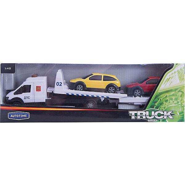 Машинка Recovery Truck Long эвакуатор с прицепом полиция 1:48, AutotimeМашинки<br>Характеристики товара:<br><br>• цвет: красный, белый, желтый<br>• возраст: от 3 лет<br>• материал: металл, пластик<br>• масштаб: 1:48<br>• комплектация: эвакуатор, 2 машинки, прицеп<br>• колеса вращаются<br>• размер упаковки: 25х6х11 см<br>• вес с упаковкой: 300 г<br>• страна бренда: Россия, Китай<br>• страна изготовитель: Китай<br><br>Такая машинка представляет собой миниатюрную копию машины с эвакуатором и набором из двух машинок и прицепа. Она отличается высокой детализацией, является коллекционной моделью. <br><br>Сделана машинка из прочного и безопасного материала. Корпус - из металла и пластика. <br><br>Машинку «Recovery Truck Long эвакуатор с прицепом полиция 1:48», Autotime (Автотайм) можно купить в нашем интернет-магазине.<br>Ширина мм: 362; Глубина мм: 114; Высота мм: 146; Вес г: 15; Возраст от месяцев: 36; Возраст до месяцев: 2147483647; Пол: Мужской; Возраст: Детский; SKU: 5584147;