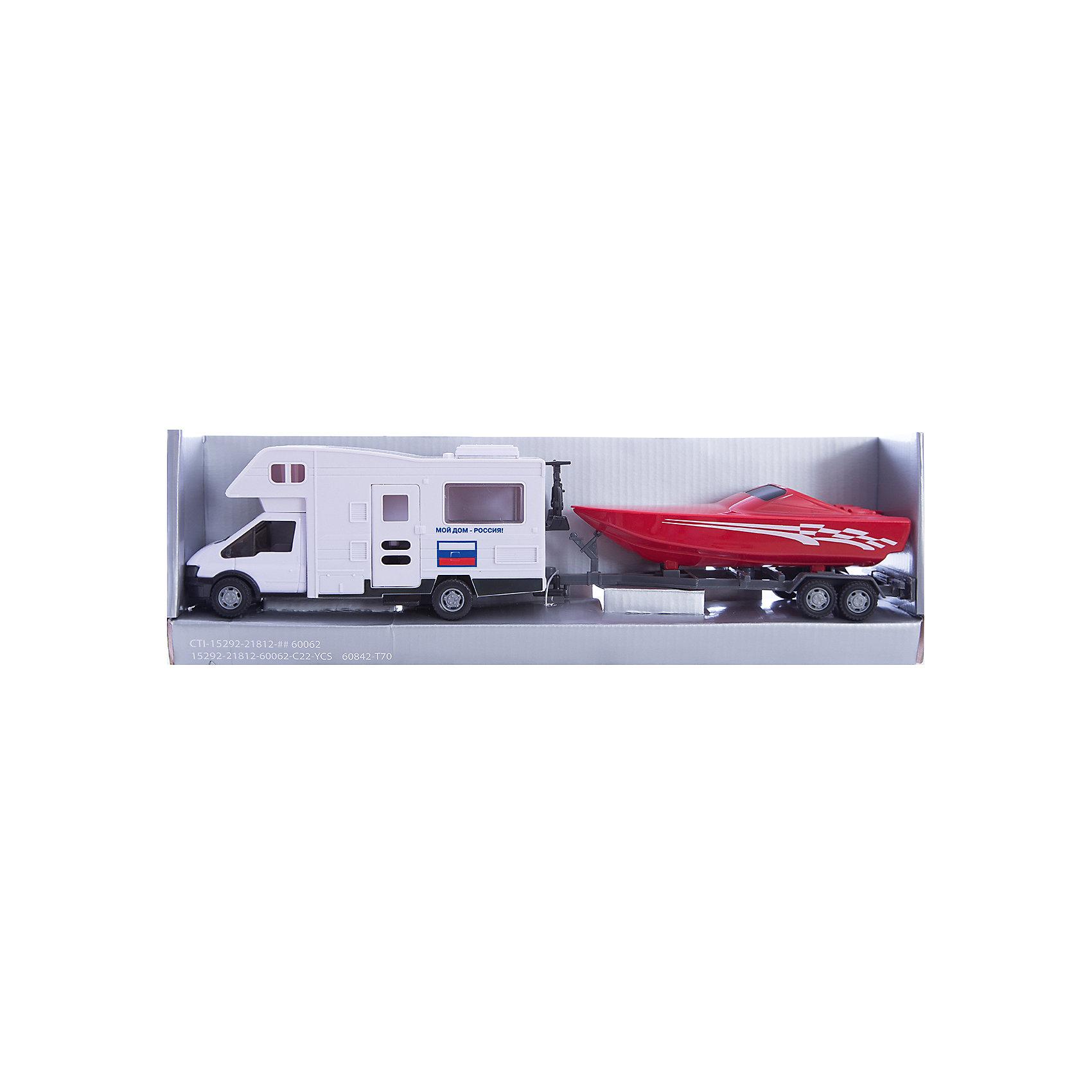 Машинка Motorhome Sunshine Россия, с яхтой 1:48, AutotimeМашинки<br>Характеристики товара:<br><br>• цвет: красный, белый<br>• возраст: от 3 лет<br>• материал: металл, пластик<br>• масштаб: 1:48<br>• комплектация: машина, яхта<br>• колеса вращаются<br>• размер упаковки: 25х6х11 см<br>• вес с упаковкой: 300 г<br>• страна бренда: Россия, Китай<br>• страна изготовитель: Китай<br><br>Эта машинка представляет собой миниатюрную копию машины с яхтой. Она отличается высокой детализацией, является коллекционной моделью. <br><br>Сделана машинка из прочного и безопасного материала. Корпус - из металла и пластика. <br><br>Машинку «Motorhome Sunshine Россия, с яхтой 1:48», Autotime (Автотайм) можно купить в нашем интернет-магазине.<br><br>Ширина мм: 362<br>Глубина мм: 114<br>Высота мм: 146<br>Вес г: 15<br>Возраст от месяцев: 36<br>Возраст до месяцев: 2147483647<br>Пол: Мужской<br>Возраст: Детский<br>SKU: 5584148