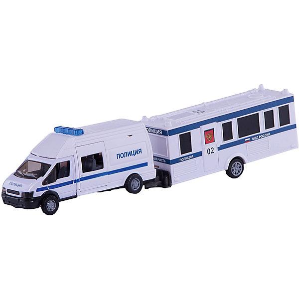 Машинка Rescue Van полиция с прицепом 1:48, AutotimeМашинки<br>Характеристики товара:<br><br>• цвет: белый<br>• возраст: от 3 лет<br>• материал: металл, пластик<br>• масштаб: 1:48<br>• комплектация: машина, прицеп<br>• инерционная<br>• колеса вращаются<br>• размер упаковки: 35х6х11 см<br>• вес с упаковкой: 300 г<br>• страна бренда: Россия, Китай<br>• страна изготовитель: Китай<br><br>Такая модель представляет собой миниатюрную копию реально существующей полицейской машины с прицепом. Она отличается высокой детализацией, является коллекционной моделью. <br><br>Сделана машинка из прочного и безопасного материала. Корпус - из металла и пластика.<br><br>Машинку «Rescue Van полиция с прицепом 1:48», Autotime (Автотайм) можно купить в нашем интернет-магазине.<br>Ширина мм: 362; Глубина мм: 114; Высота мм: 146; Вес г: 15; Возраст от месяцев: 36; Возраст до месяцев: 2147483647; Пол: Мужской; Возраст: Детский; SKU: 5584152;