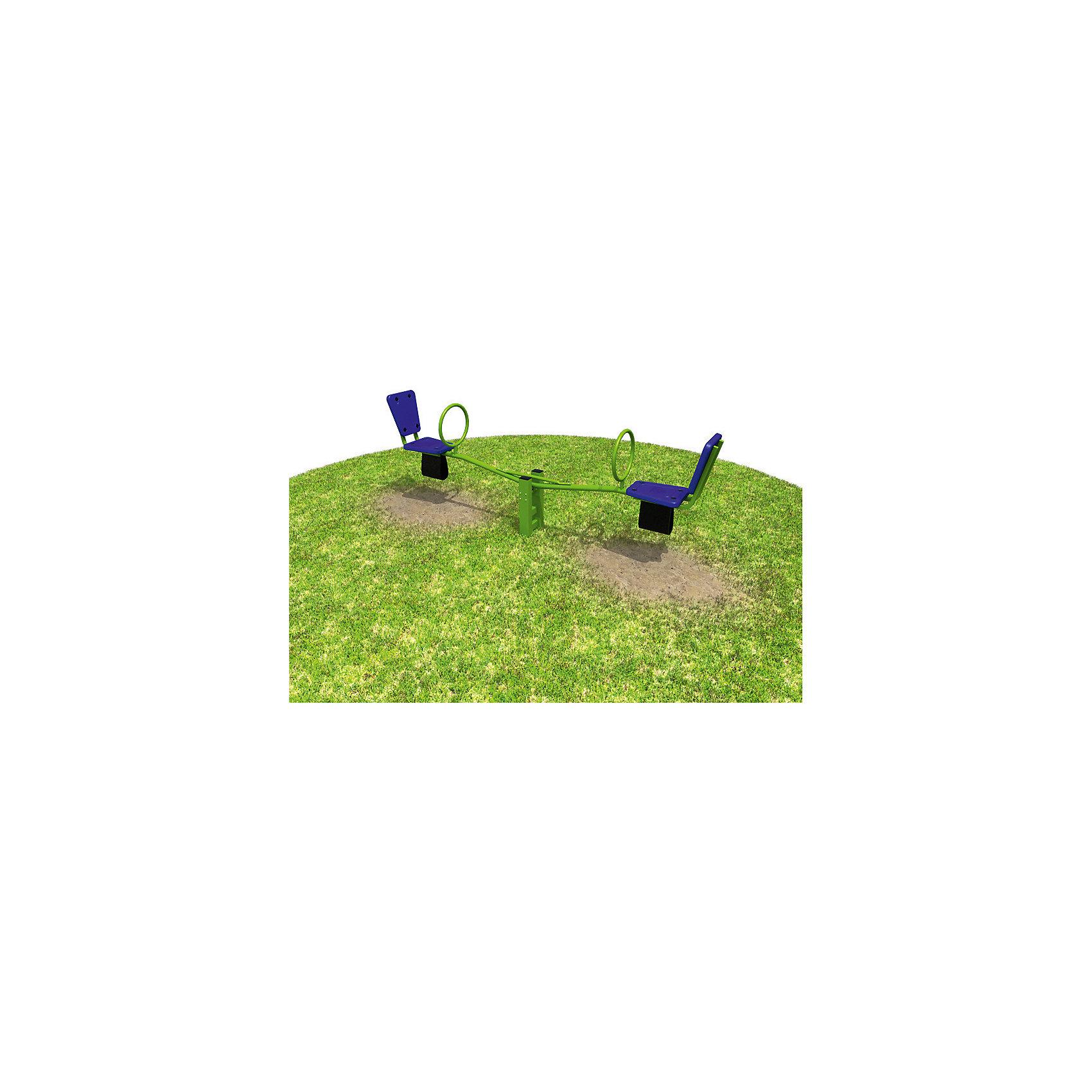 Качалка для двоих детей, ROMANAКачели и качалки<br>Характеристики: <br><br>• материал: металлическая опора, пластиковые сиденья, резиновые элементы против удара о землю, полиэфирные краски, оцинкованные крепежные элементы, пластиковые колпачки;<br>• диаметр трубной балки: 48 мм;<br>• глубина бетонирования стойки: не менее 60 см;<br>• комплектация: стойка, балка, 2 сиденья со спинками и ручками, подшипники. <br><br>Спортивный комплекс устанавливается на дачном участке или детской площадке. Представляет собой качалку для двоих детей. Сиденья пластиковые, оборудованы спинками, ручками, имеют защиту от удара о землю.<br><br>Размер комплекса (ДхШхВ): 260х30х54,5 см<br>Размер упаковки: 116х61х14 см<br>Вес: 30 кг<br><br>Качалку для двоих детей, ROMANA можно купить в нашем интернет-магазине.<br><br>Ширина мм: 1160<br>Глубина мм: 610<br>Высота мм: 140<br>Вес г: 30000<br>Возраст от месяцев: 36<br>Возраст до месяцев: 2147483647<br>Пол: Унисекс<br>Возраст: Детский<br>SKU: 5584500