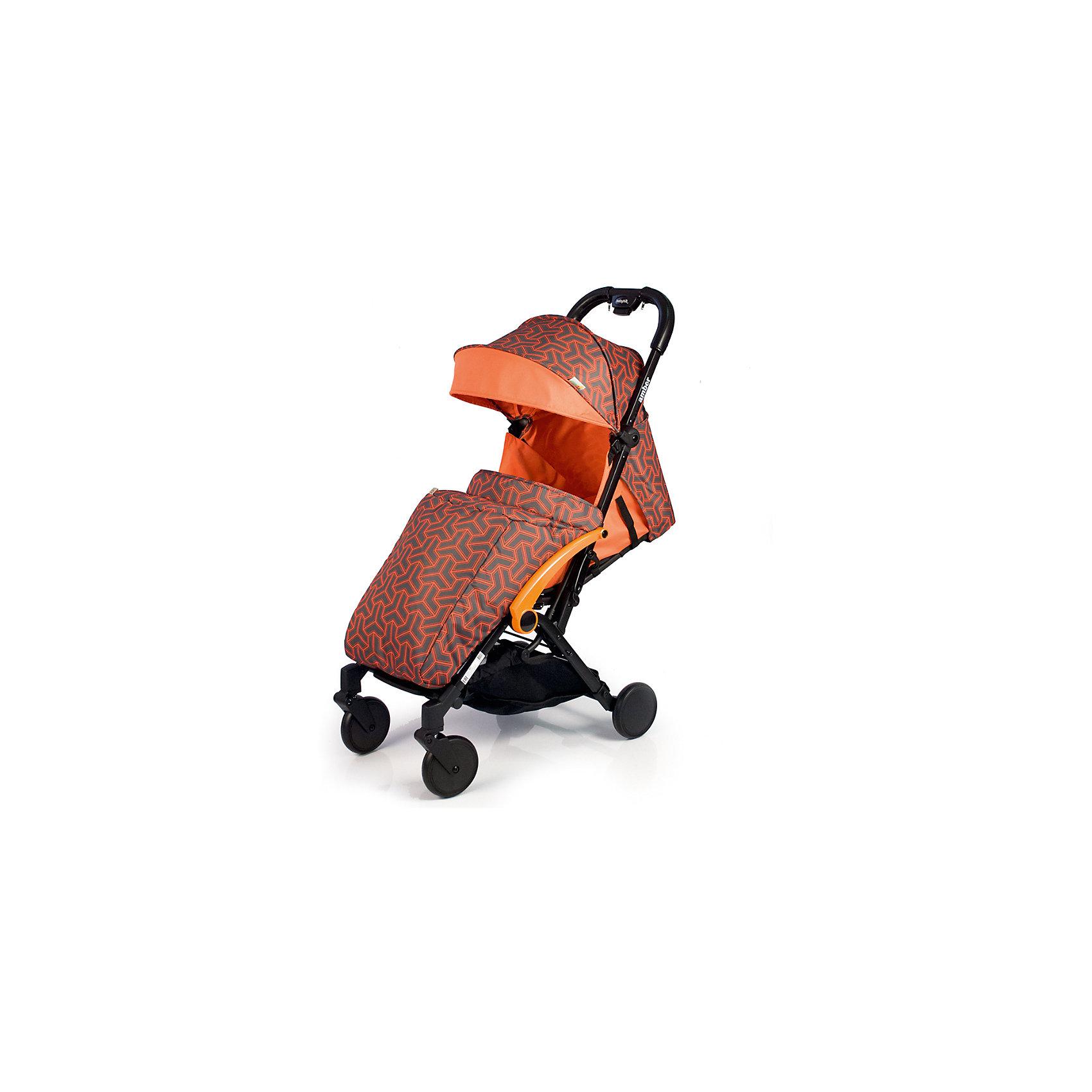 Прогулочная коляска BabyHit Amber 2017, оранжевыйПрогулочные коляски<br>Идеальная коляска для путешествий!<br>Компактна в сложенном виде.<br>Ручка с чехлами из эко-кожи<br>Одинарные передние поворотные колеса<br>Алюминиевая рама<br>Съемный поручень с разделителем для ножек<br>Регулируемая до положения «лежа» спинка<br>5-ти точечная система ремней безопасности<br>Багажная корзина<br>В комплекте: полог, дождевик, москитная сетка, сумка-чехол.<br><br>Характеристика:<br>Размеры в разложенном виде: 85 х 47 х 104 см (Д х Ш х В)<br>Размеры в сложенном виде: 54 х 47 х 32 см (Д х Ш х В)<br>Ширина сиденья: 32 см<br>Длина сиденья: 27 см<br>Высота спинки: 42 см<br>Высота до ручки: 104 см<br>Диаметр колес: 13,5 см<br>Вес: 6,7 кг<br><br>Отличительные особенности обновленной Babyhit Amber: ручка с чехлами из эко-кожи, повышенная плотность ткани, сумка чехол для коляски в комплекте.<br><br>Ширина мм: 465<br>Глубина мм: 255<br>Высота мм: 570<br>Вес г: 7600<br>Возраст от месяцев: 6<br>Возраст до месяцев: 36<br>Пол: Унисекс<br>Возраст: Детский<br>SKU: 5584570