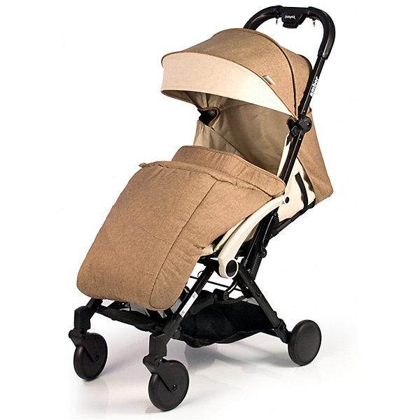 Прогулочная коляска BabyHit Amber 2017, бежевыйПрогулочные коляски<br>Идеальная коляска для путешествий!<br>Компактна в сложенном виде.<br>Ручка с чехлами из эко-кожи<br>Одинарные передние поворотные колеса<br>Алюминиевая рама<br>Съемный поручень с разделителем для ножек<br>Регулируемая до положения «лежа» спинка<br>5-ти точечная система ремней безопасности<br>Багажная корзина<br>В комплекте: полог, дождевик, москитная сетка, сумка-чехол.<br><br>Характеристика:<br>Размеры в разложенном виде: 85 х 47 х 104 см (Д х Ш х В)<br>Размеры в сложенном виде: 54 х 47 х 32 см (Д х Ш х В)<br>Ширина сиденья: 32 см<br>Длина сиденья: 27 см<br>Высота спинки: 42 см<br>Высота до ручки: 104 см<br>Диаметр колес: 13,5 см<br>Вес: 6,7 кг<br><br>Отличительные особенности обновленной Babyhit Amber: ручка с чехлами из эко-кожи, повышенная плотность ткани, сумка чехол для коляски в комплекте.<br>Ширина мм: 465; Глубина мм: 255; Высота мм: 570; Вес г: 7600; Возраст от месяцев: 6; Возраст до месяцев: 36; Пол: Унисекс; Возраст: Детский; SKU: 5584572;