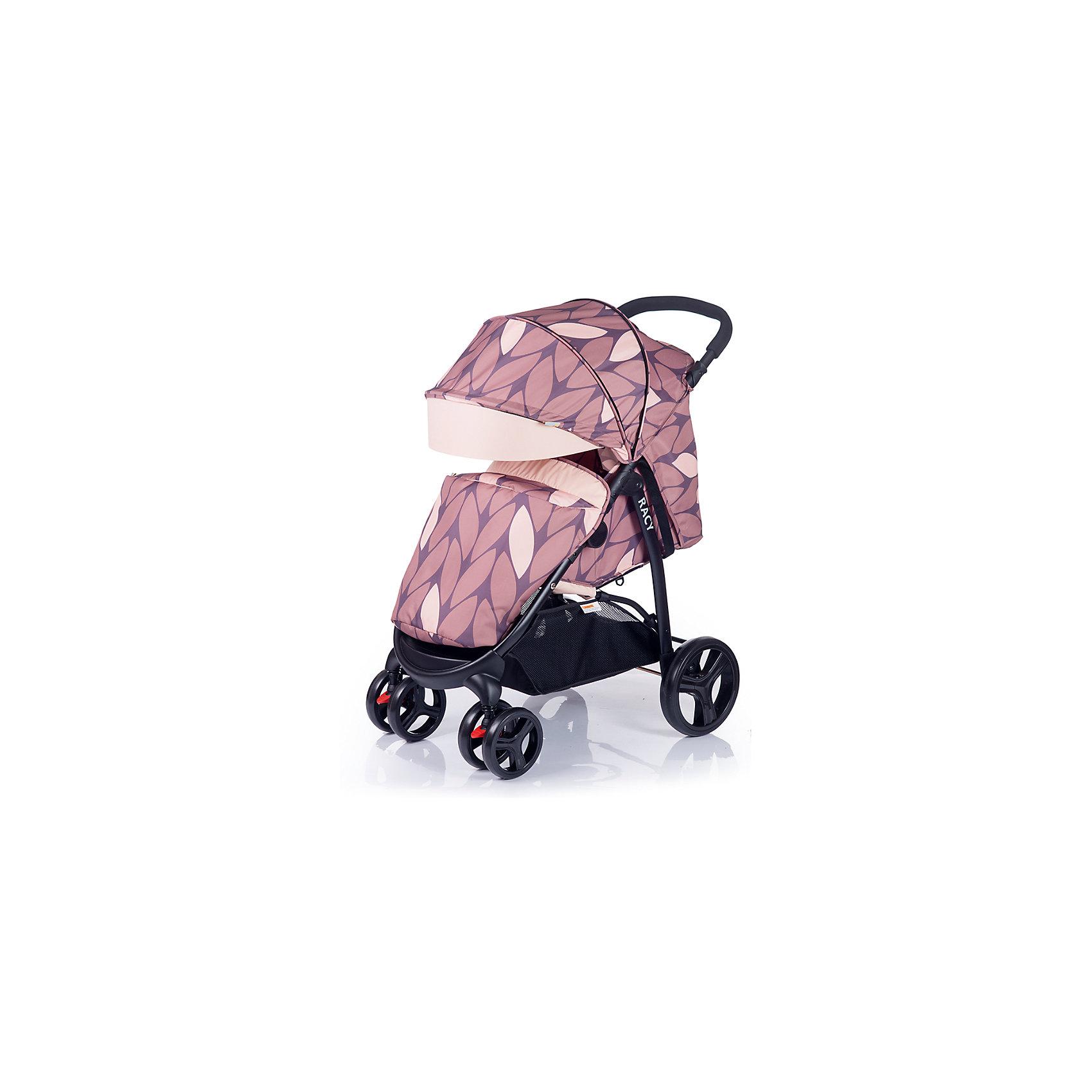 Прогулочная коляска BabyHit Racy, коричневыйПрогулочные коляски<br>Характеристики коляски<br><br>Прогулочный блок:<br><br>• горизонтальное положение спинки, угол наклона 170 градусов;<br>• подножка регулируется и удлиняет спальное место;<br>• имеется анатомический вкладыш с мягким подголовником;<br>• 5-ти точечные ремни безопасности;<br>• съемный защитный бампер с паховым ограничителем;<br>• капюшон-батискаф, опускается до бамера;<br>• калюшон оснащен солнцезащитным козырьком, смотровым окошком под клапаном и кармашком на липучке;<br>• пластиковая подножка для подросшего малыша;<br>• в комплект входит чехол на ножки и москитная сетка;<br>• материал: пластик, полиэстер;<br>• длина спального места: 75 см;<br>• ширина сиденья: 34 см<br>• высота спинки: 40 см;<br>• глубина сиденья: 22 см.<br><br>Рама коляски:<br><br>• коляска складывается вместе с прогулочным блоком по типу книжки;<br>• имеется корзина для покупок;<br>• плавающие передние колеса с фиксаторами;<br>• диаметр колес: 16,8 см, 24,8 см;<br>• материал колес: псевдорезина;<br>• материал рамы: алюминий.<br><br>Размер коляски: 85х58х105 см<br>Размер коляски в сложенном виде: 88х58х35 см<br>Вес коляски: 9,2 кг<br>Размер упаковки: 78х45х27 см<br>Вес в упаковке: 10 кг<br><br>Прогулочную коляску RACY, Babyhit, коричневую можно купить в нашем интернет-магазине.<br><br>Ширина мм: 450<br>Глубина мм: 275<br>Высота мм: 780<br>Вес г: 10000<br>Возраст от месяцев: 6<br>Возраст до месяцев: 36<br>Пол: Унисекс<br>Возраст: Детский<br>SKU: 5584574