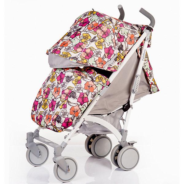 Коляска-трость BabyHit Rainbow, цветочныйКоляски-трости<br>Обновленная коляска-трость Babyhit Rainbow:<br><br>Прогулочная коляска-трость предназначена для детей от 6-ти месяцев до 3-х лет.<br>Спинка сиденья регулируется в 3-х положениях для комфортного отдыха ребенка.<br>5-ти точечные ремни безопасности с мягкими плечевыми накладками и паховый ремень надежно удержат малыша на прогулке.<br>Бампер предназначен для дополнительной безопасности, снимается при необходимости.<br>Подножка регулируемая.<br>Капюшон-батискаф опускается до бампера.<br>Передние поворотные колеса с возможностью фиксации в положении прямо.<br>Все колеса амортизированы.<br>В сложенном виде коляску легко переносить с помощью удобной ручки.<br>Коляска автоматически блокируется при складывании.<br>Корзинка для покупок расположена в нижней части коляски.<br>Размеры коляски в разложенном виде: 85/43/108 см.<br>Ширина сиденья: 35 см.<br>Высота спинки: 47 см.<br>Глубина сиденья: 25 см.<br>Длина подножки: 13 см.<br>Размер спального места при поднятой подножке - 85 х 35 см.  <br>Диаметр колес: 18 см.<br>Вес коляски - 7,4 кг.<br>В комплекте:<br>Чехол для ножек. <br>Дождевик.<br>Москитная сетка.<br>Корзинка для покупок.<br>Сумочка на ручках<br>Отличительные особенности обновленной Babyhit Rainbow: увеличенный по длине полог, полностью съемная ткань (чехол), эргономичные полиуретановые ручки.<br>Ширина мм: 260; Глубина мм: 250; Высота мм: 900; Вес г: 10000; Цвет: mehrfarbig; Возраст от месяцев: 6; Возраст до месяцев: 36; Пол: Женский; Возраст: Детский; SKU: 5584578;