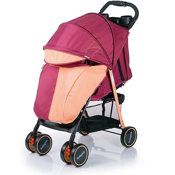 Прогулочная коляска BabyHit Simpy, бордовый/оранжевыйНедорогие коляски<br>Новинка 2017 года!<br>Легкая прогулочная коляска.<br>Сдвоенные передние колеса с функцией фиксации в положении «прямо»<br>Складывание одной рукой<br>Капюшон «батискаф»<br>3 положения наклона спинки (сидя, полулежа, лежа)<br>Регулируемая подножка<br>Съемный поручень с паховым ремнем<br>3-х точечная система ремней безопасности<br>Столик с подстаканниками и бардачком на ручке<br>Вместительная багажная корзина<br>Амортизация на всех колесах<br>В комплекте: полог, москитная сетка<br><br>Характеристика:<br>Размеры в разложенном виде: 76 х 46 х 101 см (ДхШхВ)<br>Размеры в сложенном виде: 83 х 46 х 34 см (ДхШхВ)<br>Размер спального места: 68х32 см (ДхШ)<br>Ширина сиденья: 32 см<br>Длина сиденья:  20 см<br>Высота спинки:  39 см<br>Высота до ручки: 101 см<br>Диаметр колес: 15 см<br><br>Ширина мм: 420<br>Глубина мм: 250<br>Высота мм: 800<br>Вес г: 6980<br>Возраст от месяцев: 6<br>Возраст до месяцев: 36<br>Пол: Унисекс<br>Возраст: Детский<br>SKU: 5584582