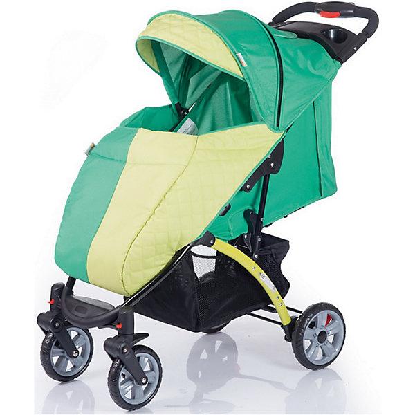 Прогулочная коляска BabyHit Tetra, зеленыйПрогулочные коляски<br>Новинка 2017 года!<br>Прогулочная коляска с расширенным климатическим сезоном.<br>Передние одинарные поворотные колеса с фиксаций в положении «прямо»<br>Складывание одной рукой<br>Капюшон «батискаф»<br>Регулируемая в 3-х положениях спинка (сидя, полулежа, лежа).<br>Регулируемая подножка<br>Съемный поручень с паховым ремнем<br>5-ти точечная система ремней безопасности<br>Столик с подстаканниками и бардачком на ручке<br>Вместительная багажная корзина<br>Амортизация на всех колесах<br>В комплекте: полог, москитная сетка<br><br>Характеристика:<br>Размеры в разложенном виде: 99 х 52 х101 см (ДхШхВ)<br>Размеры в сложенном виде: 84 х 52 х 39 см (ДхШхВ)<br>Размер спального места: 79 х 33 см (ДхШ)<br>Ширина сиденья: 33 см<br>Длина сиденья:  22 см<br>Высота спинки:  44 см<br>Высота до ручки: 100 см<br>Диаметр передних колес: 18 см<br>Диаметр задних колес: 20,5 см<br>Вес: 8,8 кг<br><br>Ширина мм: 420<br>Глубина мм: 250<br>Высота мм: 800<br>Вес г: 10220<br>Возраст от месяцев: 6<br>Возраст до месяцев: 36<br>Пол: Унисекс<br>Возраст: Детский<br>SKU: 5584586