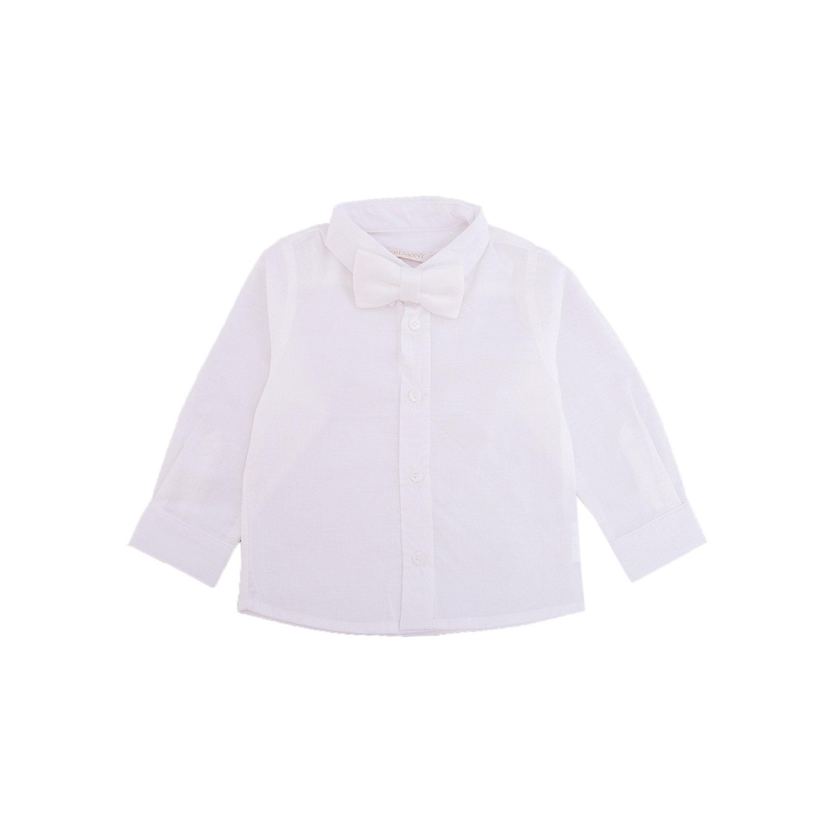 Рубашка для мальчика WojcikОдежда<br>Характеристики товара:<br><br>• цвет: белый<br>• состав ткани: хлопок 100%<br>• особенности: школьная, нарядная<br>• отложной воротник<br>• застежка: пуговицы<br>• длинные рукава<br>• сезон: круглый год<br>• страна бренда: Польша<br>• страна изготовитель: Польша<br><br>Эта модель одежды для школы сделана из качественного материала с преобладанием хлопка в составе. Белая рубашка для мальчика Войчик подойдет для также для торжественных случаев.<br><br>Классическая рубашка для мальчика Wojcik - удобная и модная школьная одежда. Польская продукция для детей от бренда Войчик - это качественные и стильные вещи.<br><br>Рубашку для мальчика Wojcik (Войчик) можно купить в нашем интернет-магазине.<br><br>Ширина мм: 174<br>Глубина мм: 10<br>Высота мм: 169<br>Вес г: 157<br>Цвет: кремовый<br>Возраст от месяцев: 6<br>Возраст до месяцев: 9<br>Пол: Мужской<br>Возраст: Детский<br>Размер: 74,62,68<br>SKU: 5588192