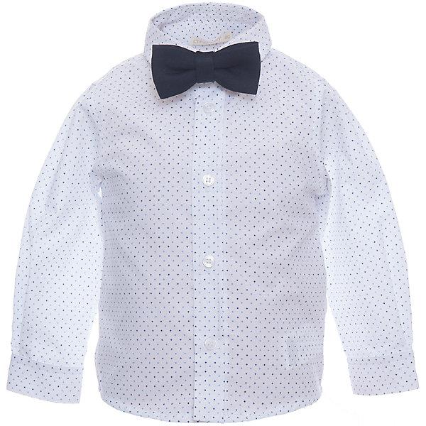 Рубашка для мальчика WojcikБлузки и рубашки<br>Характеристики товара:<br><br>• цвет: белый<br>• состав ткани: хлопок<br>• особенности: школьная, нарядная<br>• отложной воротник<br>• застежка: пуговицы<br>• длинные рукава<br>• сезон: круглый год<br>• страна бренда: Польша<br>• страна изготовитель: Польша<br><br>Белая рубашка для мальчика Wojcik - удобная и модная модель. Польская одежда для детей от бренда Войчик - это качественные и стильные вещи.<br><br>Эта модель одежды для школы сделана из качественного материала с преобладанием хлопка в составе. Белая рубашка для мальчика Войчик смотрится стильно и нарядно.<br><br>Рубашку для мальчика Wojcik (Войчик) можно купить в нашем интернет-магазине.<br><br>Ширина мм: 174<br>Глубина мм: 10<br>Высота мм: 169<br>Вес г: 157<br>Цвет: белый<br>Возраст от месяцев: 12<br>Возраст до месяцев: 15<br>Пол: Мужской<br>Возраст: Детский<br>Размер: 80<br>SKU: 5588196
