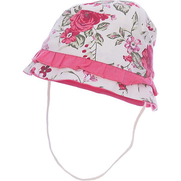 Панама для девочки WojcikШапочки<br>Характеристики товара:<br><br>• цвет: белый<br>• состав ткани: 60% хлопок, 40% полиэстер <br>• сезон: лето<br>• застежка: нет<br>• страна бренда: Польша<br>• страна изготовитель: Польша<br><br>Легкая панама для девочки Wojcik надежно защитит голову от солнца. Детская панама декорирована принтом и рюшей. Одежда для детей из Польши от бренда Wojcik отличается хорошим качеством и стилем. <br><br>Панаму для девочки Wojcik (Войчик) можно купить в нашем интернет-магазине.<br><br>Ширина мм: 89<br>Глубина мм: 117<br>Высота мм: 44<br>Вес г: 155<br>Цвет: белый<br>Возраст от месяцев: 3<br>Возраст до месяцев: 6<br>Пол: Женский<br>Возраст: Детский<br>Размер: 68,74<br>SKU: 5588244