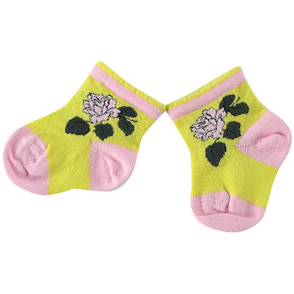 Носки для девочки WojcikНосочки и колготки<br>Характеристики товара:<br><br>• цвет: желтый<br>• состав ткани: хлопок 93%, полиамид 5%, эластан 2%<br>• сезон: круглый год<br>• страна бренда: Польша<br>• страна изготовитель: Польша<br><br>Удобные носки - залог комфорта ребенка. Эти яркие носки для девочки Wojcik сделаны преимущественно из натурального хлопка. Он позволяет коже дышать и обеспечивает комфорт. <br><br>Детские носки не давят на ногу благодаря мягкой резинке. Польская одежда для детей от бренда Войчик - это качественные и стильные вещи.<br><br>Носки для девочки Wojcik (Войчик) можно купить в нашем интернет-магазине.<br><br>Ширина мм: 87<br>Глубина мм: 10<br>Высота мм: 105<br>Вес г: 115<br>Цвет: желтый<br>Возраст от месяцев: 0<br>Возраст до месяцев: 5<br>Пол: Женский<br>Возраст: Детский<br>Размер: 16/17,15/16,18/19<br>SKU: 5588331