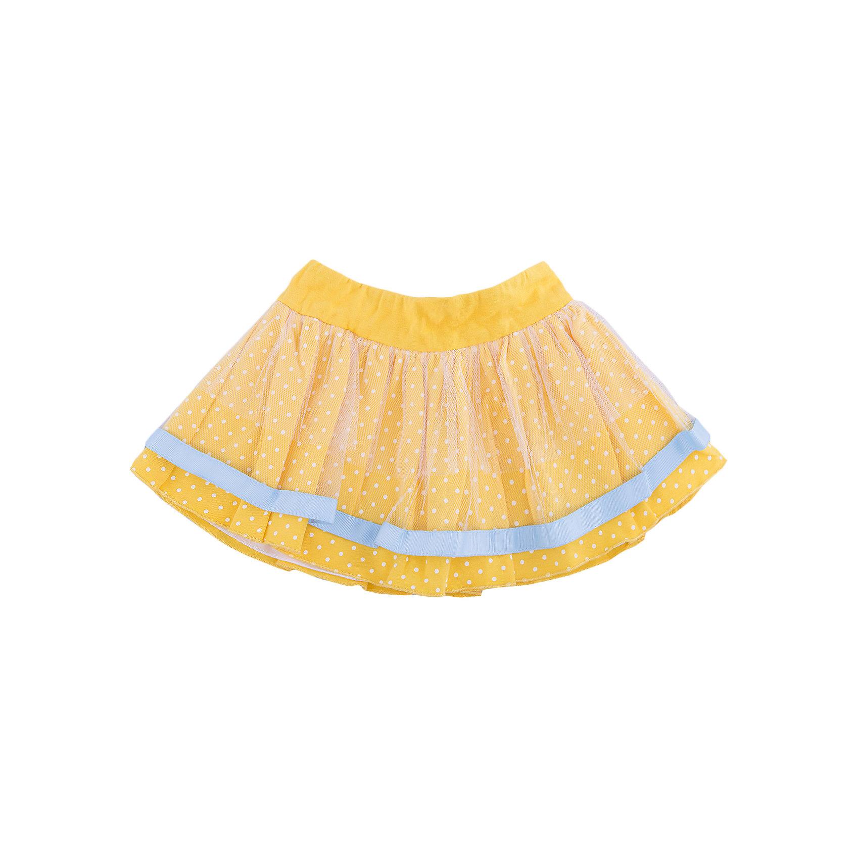 Юбка для девочки WojcikЮбки<br>Характеристики товара:<br><br>• цвет: желтый<br>• состав ткани: хлопок 95%, эластан 5%<br>• пояс: резинка<br>• сезон: лето<br>• страна бренда: Польша<br>• страна изготовитель: Польша<br><br>Эта модель детской одежды сделана из качественного материала, есть подкладка. Желтая юбка для девочки Wojcik - удобная и модная школьная одежда. <br><br>Эта юбка для девочки Войчик отличается модным кроем, пышным силуэтом. Польская одежда для детей от бренда Войчик - это качественные и стильные вещи.<br><br>Юбку для девочки Wojcik (Войчик) можно купить в нашем интернет-магазине.<br><br>Ширина мм: 207<br>Глубина мм: 10<br>Высота мм: 189<br>Вес г: 183<br>Цвет: желтый<br>Возраст от месяцев: 12<br>Возраст до месяцев: 18<br>Пол: Женский<br>Возраст: Детский<br>Размер: 86,68,74<br>SKU: 5588335