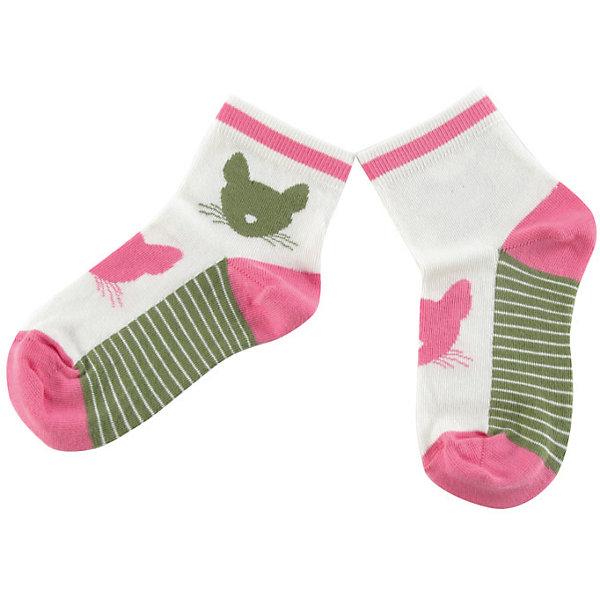 Носки для девочки WojcikНоски<br>Характеристики товара:<br><br>• цвет: белый<br>• состав ткани :хлопок 93%, полиамид 5%, эластан 2%<br>• сезон: круглый год<br>• страна бренда: Польша<br>• страна изготовитель: Польша<br><br>Удобные носки для девочки Wojcik сделаны преимущественно из натурального хлопка. Он позволяет коже дышать и обеспечивает комфорт. <br><br>Детские носки не давят на ногу благодаря мягкой резинке. Польская одежда для детей от бренда Войчик - это качественные и стильные вещи.<br><br>Носки для девочки Wojcik (Войчик) можно купить в нашем интернет-магазине.<br>Ширина мм: 87; Глубина мм: 10; Высота мм: 105; Вес г: 115; Цвет: разноцветный; Возраст от месяцев: 3; Возраст до месяцев: 6; Пол: Женский; Возраст: Детский; Размер: 17/18,21/22; SKU: 5588472;