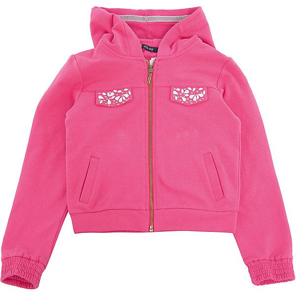 Толстовка для девочки WojcikТолстовки<br>Характеристики товара:<br><br>• цвет: розовый<br>• состав ткани: 97% хлопок, 3% эластан <br>• сезон: демисезон<br>• особенности модели: спортивный стиль<br>• застежка: молния<br>• длинные рукава<br>• страна бренда: Польша<br>• страна изготовитель: Польша<br><br>Легкая толстовка для девочки Войчик дополнена капюшоном. Детская толстовка сделана из мягкого дышащего материала. Толстовка для детей - удобная и стильная. Польская детская одежда для детей от бренда Wojcik - это качественные и модные вещи. <br><br>Толстовку для девочки Wojcik (Войчик) можно купить в нашем интернет-магазине.<br><br>Ширина мм: 190<br>Глубина мм: 74<br>Высота мм: 229<br>Вес г: 236<br>Цвет: розовый<br>Возраст от месяцев: 96<br>Возраст до месяцев: 108<br>Пол: Женский<br>Возраст: Детский<br>Размер: 134,104,110,116,128,122<br>SKU: 5588486