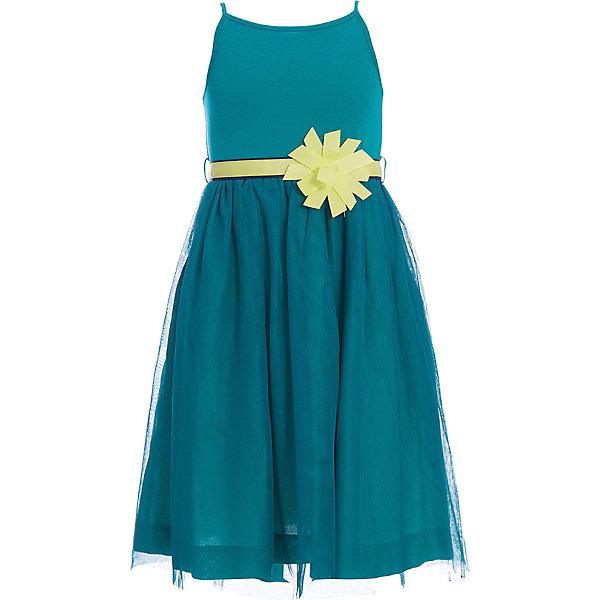 Платье для девочки WojcikПлатья и сарафаны<br>Характеристики товара:<br><br>• цвет: бирюзовый<br>• состав ткани: 80% хлопок, 20% эластан<br>• сезон: лето<br>• пояс в комплекте<br>• без рукавов<br>• страна бренда: Польша<br>• страна изготовитель: Польша<br><br>Длинное эффектное платье для девочки Войчик легко надевается. Детское платье декорировано бантом. Пышное платье для детей сделано из качественного материала. Бренд Wojcik - это польская детская одежда отличного качества по доступной цене. <br><br>Платье для девочки Wojcik (Войчик) можно купить в нашем интернет-магазине.<br><br>Ширина мм: 236<br>Глубина мм: 16<br>Высота мм: 184<br>Вес г: 177<br>Цвет: зеленый<br>Возраст от месяцев: 84<br>Возраст до месяцев: 96<br>Пол: Женский<br>Возраст: Детский<br>Размер: 128,134,122,116<br>SKU: 5588572