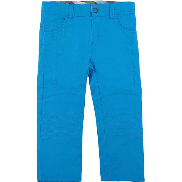 Брюки для мальчика WojcikПолзунки и штанишки<br>Характеристики товара:<br><br>• цвет: голубой<br>• состав ткани: 100% хлопок<br>• сезон: демисезон<br>• застежка: пуговица<br>• шлевки<br>• страна бренда: Польша<br>• страна изготовитель: Польша<br><br>Практичные брюки для мальчика Wojcik комфортно сидят по фигуре. Детские брюки дополнены удобными карманами. Эти брюки для детей - дышащие и комфортные. Одежда для детей из Польши от бренда Wojcik отличается хорошим качеством и стилем. <br><br>Брюки для мальчика Wojcik (Войчик) можно купить в нашем интернет-магазине.<br><br>Ширина мм: 215<br>Глубина мм: 88<br>Высота мм: 191<br>Вес г: 336<br>Цвет: голубой<br>Возраст от месяцев: 3<br>Возраст до месяцев: 6<br>Пол: Мужской<br>Возраст: Детский<br>Размер: 68,80,74<br>SKU: 5588748