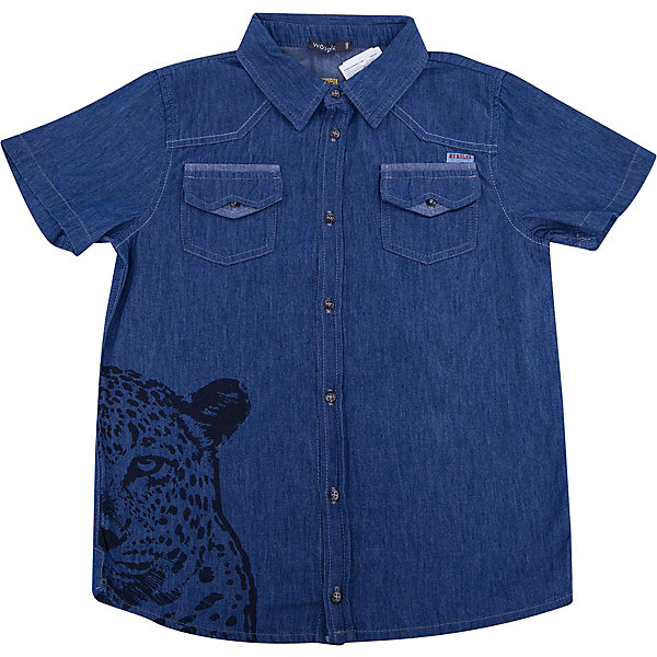 Рубашка для мальчика WojcikБлузки и рубашки<br>Характеристики товара:<br><br>• цвет: синий<br>• состав ткани: 100% хлопок<br>• сезон: лето<br>• короткие рукава<br>• застежка: пуговицы<br>• страна бренда: Польша<br>• страна изготовитель: Польша<br><br>Синяя рубашка с коротким рукавом для мальчика Войчик легко надевается благодаря пуговицам. Хлопковая рубашка для детей сделана из легкого дышащего материала. Бренд Wojcik - это польская детская одежда отличного качества по доступной цене. <br><br>Рубашку для мальчика Wojcik (Войчик) можно купить в нашем интернет-магазине.<br>Ширина мм: 174; Глубина мм: 10; Высота мм: 169; Вес г: 157; Цвет: синий; Возраст от месяцев: 120; Возраст до месяцев: 132; Пол: Мужской; Возраст: Детский; Размер: 146,110,140,134,128,122,116; SKU: 5588793;