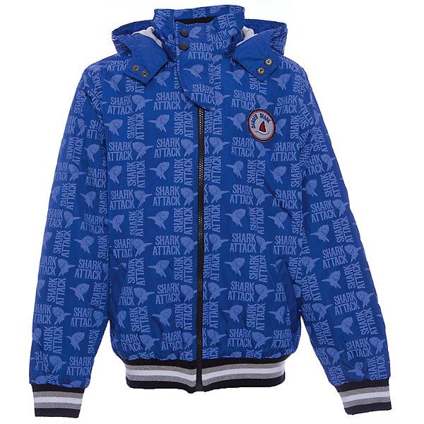 Куртка для мальчика WojcikВерхняя одежда<br>Характеристики товара:<br><br>• цвет: синий<br>• состав ткани: 100% полиэстер<br>• сезон: демисезон<br>• особенности модели: с капюшоном<br>• застежка: молния<br>• длинные рукава<br>• страна бренда: Польша<br>• страна изготовитель: Польша<br><br>Легкая куртка для мальчика от Войчик отличается модным кроем. Детская куртка удобно застегивается. Куртка для детей - удобная и стильная. Польская детская одежда для детей от бренда Wojcik - это качественные и стильные вещи. <br><br>Куртку для мальчика Wojcik (Войчик) можно купить в нашем интернет-магазине.<br><br>Ширина мм: 356<br>Глубина мм: 10<br>Высота мм: 245<br>Вес г: 519<br>Цвет: белый<br>Возраст от месяцев: 84<br>Возраст до месяцев: 96<br>Пол: Мужской<br>Возраст: Детский<br>Размер: 128,146,116,134,140<br>SKU: 5588803