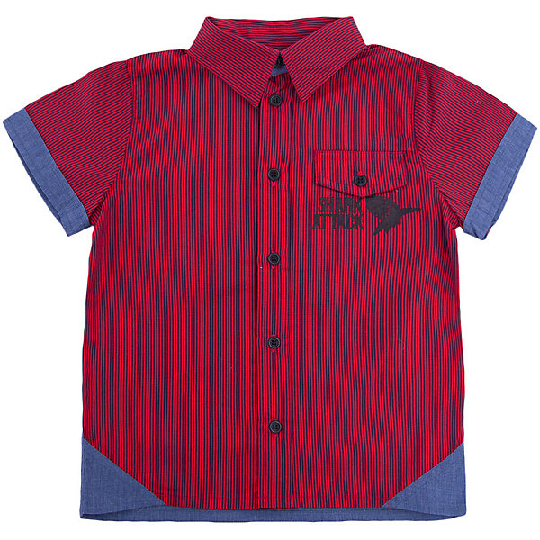 Рубашка для мальчика WojcikБлузки и рубашки<br>Характеристики товара:<br><br>• цвет: красный<br>• состав ткани: 100% хлопок<br>• сезон: лето<br>• короткие рукава<br>• застежка: пуговицы<br>• страна бренда: Польша<br>• страна изготовитель: Польша<br><br>Модная рубашка с коротким рукавом для мальчика Войчик легко надевается благодаря пуговицам. Хлопковая рубашка для детей сделана из легкого дышащего материала. Бренд Wojcik - это польская детская одежда отличного качества по доступной цене. <br><br>Рубашку для мальчика Wojcik (Войчик) можно купить в нашем интернет-магазине.<br>Ширина мм: 174; Глубина мм: 10; Высота мм: 169; Вес г: 157; Цвет: красный; Возраст от месяцев: 120; Возраст до месяцев: 132; Пол: Мужской; Возраст: Детский; Размер: 146,104,110,116,122,128,134,140; SKU: 5588811;