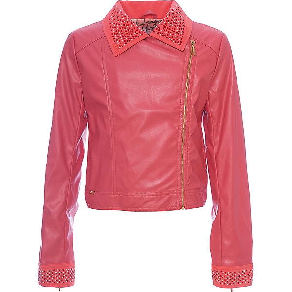 Куртка для девочки WojcikВерхняя одежда<br>Характеристики товара:<br><br>• цвет: коралловый<br>• состав ткани: 100% полиэстер<br>• сезон: демисезон<br>• застежка: молния<br>• длинные рукава<br>• декор: стразы<br>• страна бренда: Польша<br>• страна изготовитель: Польша<br><br>Такая куртка для девочки от Войчик отличается модным кроем. Детская куртка удобно застегивается. Куртка для детей - удобная и стильная. Польская детская одежда для детей от бренда Wojcik - это качественные и стильные вещи. <br><br>Куртку для девочки Wojcik (Войчик) можно купить в нашем интернет-магазине.<br><br>Ширина мм: 356<br>Глубина мм: 10<br>Высота мм: 245<br>Вес г: 519<br>Цвет: коралловый<br>Возраст от месяцев: 84<br>Возраст до месяцев: 96<br>Пол: Женский<br>Возраст: Детский<br>Размер: 128,152,146,140,134<br>SKU: 5588941