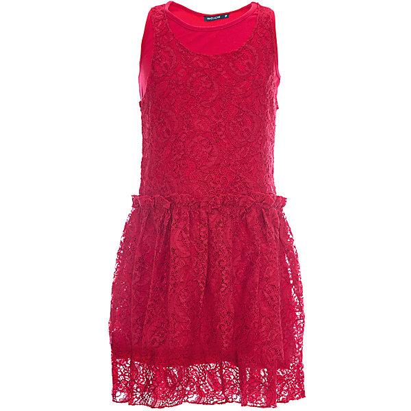 Платье для девочки WojcikПлатья и сарафаны<br>Характеристики товара:<br><br>• цвет: красный<br>• состав ткани: 90% вискоза, 10% полиамид<br>• сезон: лето<br>• особенности модели: нарядная<br>• без рукавов<br>• страна бренда: Польша<br>• страна изготовитель: Польша<br><br>Эффектное платье для детей сделано из качественного материала. Нарядное платье для девочки Войчик легко надевается. Детское платье декорировано ажурным шитьем. Популярный бренд Wojcik - это польская детская одежда отличного качества по доступной цене. <br><br>Платье для девочки Wojcik (Войчик) можно купить в нашем интернет-магазине.<br>Ширина мм: 236; Глубина мм: 16; Высота мм: 184; Вес г: 177; Цвет: красный; Возраст от месяцев: 84; Возраст до месяцев: 96; Пол: Женский; Возраст: Детский; Размер: 128; SKU: 5589553;