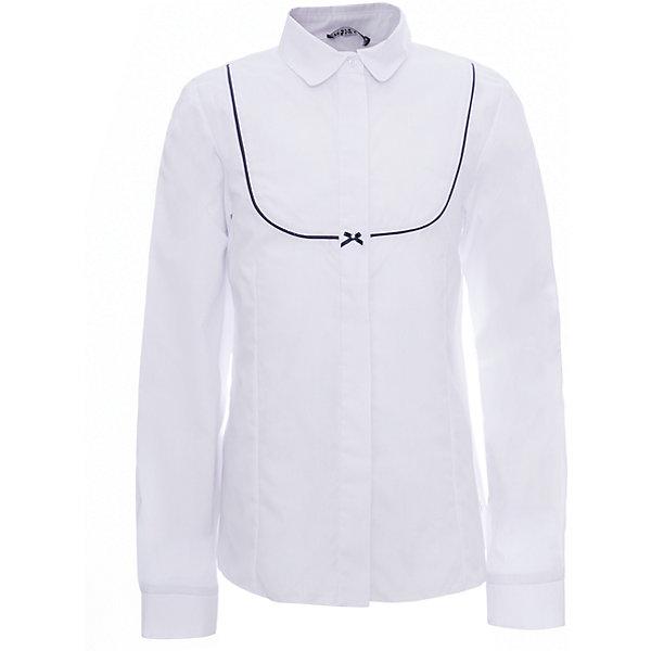 Рубашка для девочки WojcikБлузки и рубашки<br>Характеристики товара:<br><br>• цвет: белый<br>• состав ткани: хлопок 65%, полиэстер 35%<br>• особенности: школьная, нарядная<br>• отложной воротник<br>• застежка: кнопки<br>• длинные рукава<br>• сезон: круглый год<br>• страна бренда: Польша<br>• страна изготовитель: Польша<br><br>Рубашка для девочки Wojcik - удобная и модная школьная одежда. Польская одежда для детей от бренда Войчик - это качественные и стильные вещи.<br><br>Эта модель одежды для школы сделана из качественного материала с преобладанием хлопка в составе. Белая рубашка для девочки Войчик декорирована принтом.<br><br>Рубашку для девочки Wojcik (Войчик) можно купить в нашем интернет-магазине.<br><br>Ширина мм: 190<br>Глубина мм: 74<br>Высота мм: 229<br>Вес г: 236<br>Цвет: белый<br>Возраст от месяцев: 60<br>Возраст до месяцев: 72<br>Пол: Женский<br>Возраст: Детский<br>Размер: 116,158,152,146,140,134,128,122<br>SKU: 5589563
