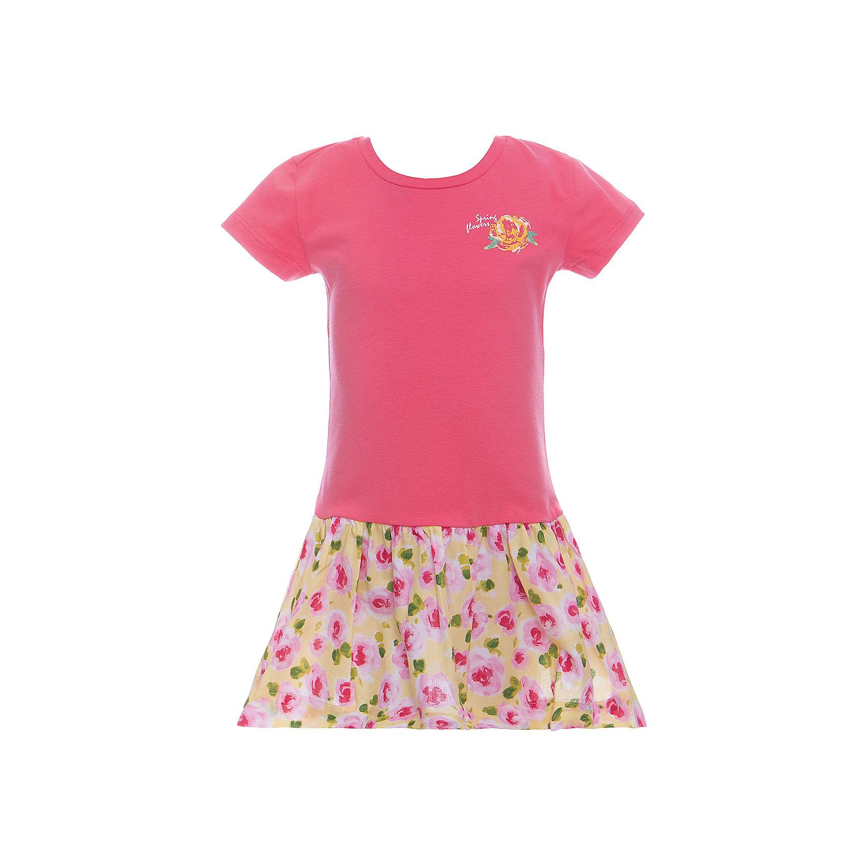 Платье для девочки WojcikПлатья и сарафаны<br>Характеристики товара:<br><br>• цвет: розовый<br>• состав ткани: хлопок 92%, эластан 8%<br>• комбинированный материал<br>• сезон: лето<br>• короткие рукава<br>• страна бренда: Польша<br>• страна изготовитель: Польша<br><br>Яркое платье для девочки Wojcik - удобная и модная одежда для теплого времени года. Польская одежда для детей от бренда Войчик - это качественные и стильные вещи.<br><br>Эта модель одежды для детей сделана из качественного материала с преобладание дышащего натурального хлопка в составе. Розовое платье для девочки Войчик отличается модным кроем с пышным подолом.<br><br>Платье для девочки Wojcik (Войчик) можно купить в нашем интернет-магазине.<br><br>Ширина мм: 236<br>Глубина мм: 16<br>Высота мм: 184<br>Вес г: 177<br>Цвет: светло-розовый<br>Возраст от месяцев: 84<br>Возраст до месяцев: 96<br>Пол: Женский<br>Возраст: Детский<br>Размер: 128,104,110,116,122<br>SKU: 5589629