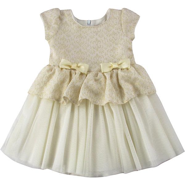 Платье для девочки WojcikПлатья<br>Характеристики товара:<br><br>• цвет: кремовый<br>• состав ткани: 100% полиэстер<br>• сезон: лето<br>• особенности модели: нарядная<br>• застежка: молния<br>• короткие рукава<br>• страна бренда: Польша<br>• страна изготовитель: Польша<br><br>Это нарядное платье для детей сделано из качественного материала. Такое платье для девочки Войчик легко надевается. Детское платье декорировано бантами. Популярный бренд Wojcik - это польская детская одежда отличного качества по доступной цене. <br><br>Платье для девочки Wojcik (Войчик) можно купить в нашем интернет-магазине.<br><br>Ширина мм: 236<br>Глубина мм: 16<br>Высота мм: 184<br>Вес г: 177<br>Цвет: кремовый<br>Возраст от месяцев: 18<br>Возраст до месяцев: 24<br>Пол: Женский<br>Возраст: Детский<br>Размер: 92,68,98,86,80,74<br>SKU: 5589964