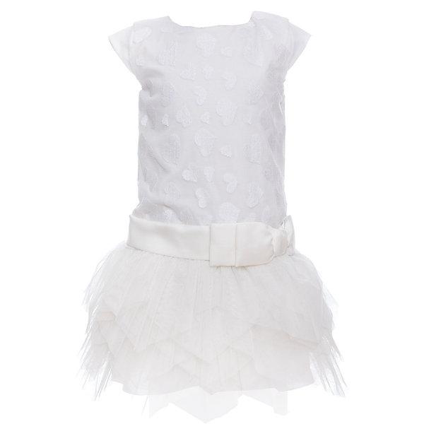 Платье для девочки WojcikОдежда<br>Характеристики товара:<br><br>• цвет: белый<br>• состав ткани: 100% полиэстер<br>• сезон: лето<br>• особенности модели: нарядная<br>• застежка: молния<br>• без рукавов<br>• страна бренда: Польша<br>• страна изготовитель: Польша<br><br>Белое нарядное платье для детей сделано из качественного материала. Такое платье для девочки Войчик легко надевается. Эффектное детское платье отличается пышным подолом. Популярный бренд Wojcik - это польская детская одежда отличного качества по доступной цене. <br><br>Платье для девочки Wojcik (Войчик) можно купить в нашем интернет-магазине.<br><br>Ширина мм: 236<br>Глубина мм: 16<br>Высота мм: 184<br>Вес г: 177<br>Цвет: кремовый<br>Возраст от месяцев: 84<br>Возраст до месяцев: 96<br>Пол: Женский<br>Возраст: Детский<br>Размер: 128,92,98,104,110,116,122<br>SKU: 5590068