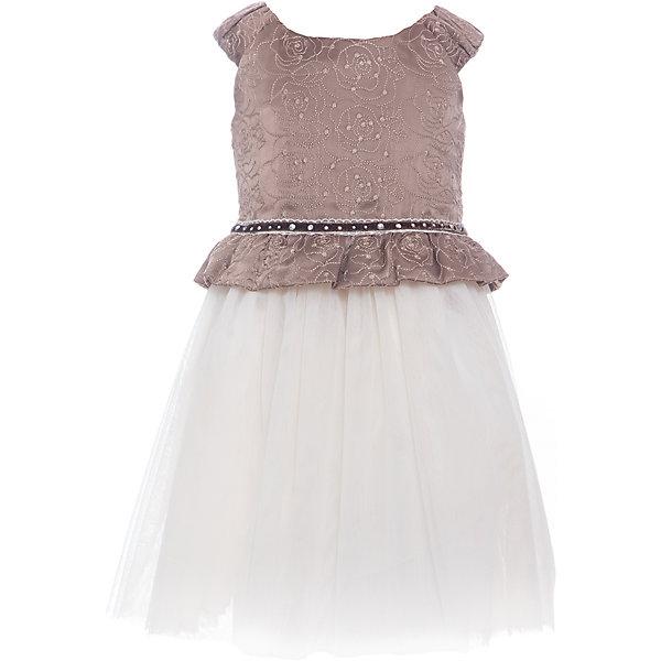 Платье для девочки WojcikОдежда<br>Характеристики товара:<br><br>• цвет: бежевый<br>• состав ткани: 100% полиэстер<br>• сезон: лето<br>• особенности модели: нарядная<br>• застежка: молния<br>• без рукавов<br>• страна бренда: Польша<br>• страна изготовитель: Польша<br><br>Такое нарядное платье для детей сделано из качественного материала. Такое платье для девочки Войчик легко надевается. Эффектное детское платье отличается пышным подолом. Популярный бренд Wojcik - это польская детская одежда отличного качества по доступной цене. <br><br>Платье для девочки Wojcik (Войчик) можно купить в нашем интернет-магазине.<br>Ширина мм: 236; Глубина мм: 16; Высота мм: 184; Вес г: 177; Цвет: бежевый; Возраст от месяцев: 36; Возраст до месяцев: 48; Пол: Женский; Возраст: Детский; Размер: 104,110,134,128,122,116,98,92; SKU: 5590164;