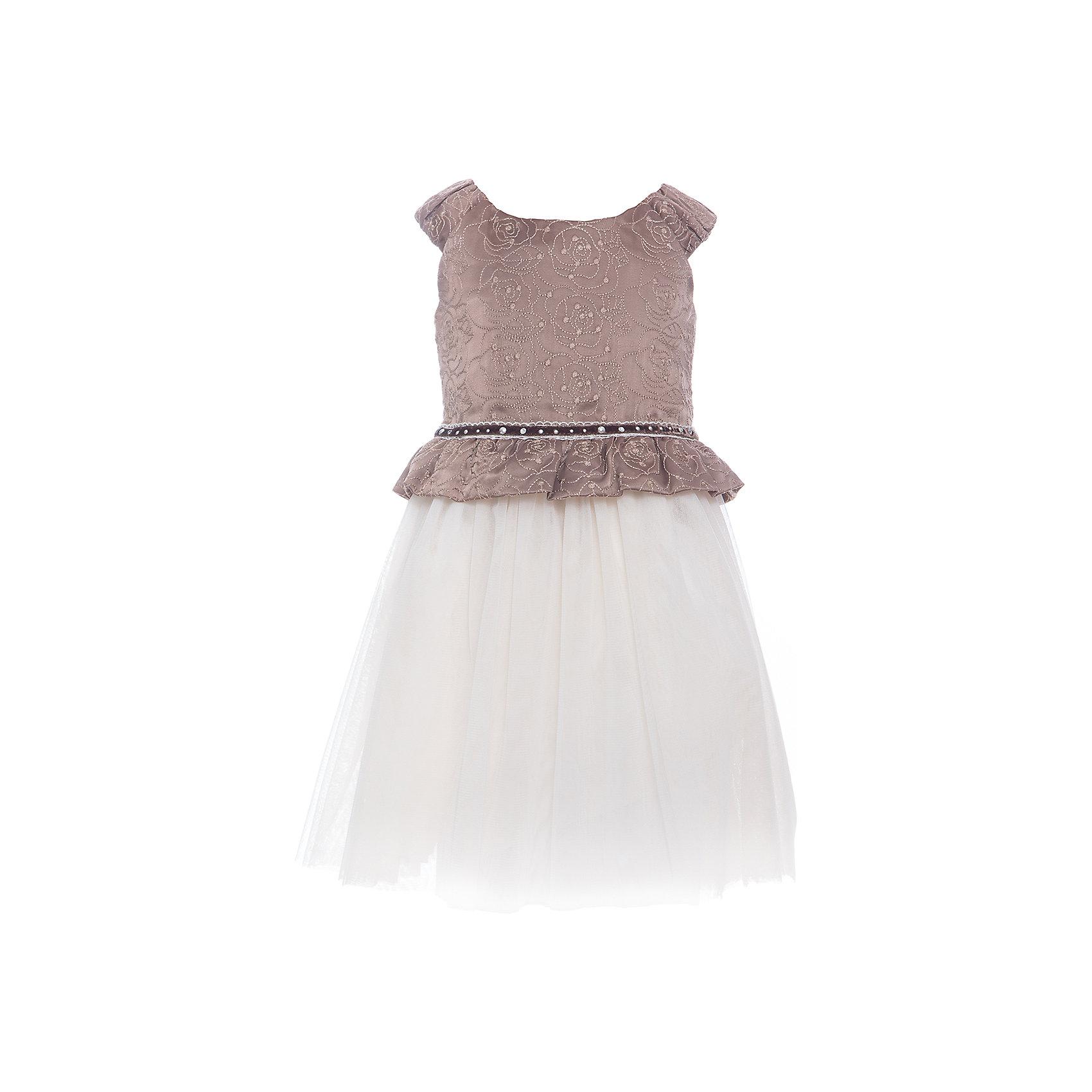 Платье для девочки WojcikОдежда<br>Характеристики товара:<br><br>• цвет: бежевый<br>• состав ткани: 100% полиэстер<br>• сезон: лето<br>• особенности модели: нарядная<br>• застежка: молния<br>• без рукавов<br>• страна бренда: Польша<br>• страна изготовитель: Польша<br><br>Такое нарядное платье для детей сделано из качественного материала. Такое платье для девочки Войчик легко надевается. Эффектное детское платье отличается пышным подолом. Популярный бренд Wojcik - это польская детская одежда отличного качества по доступной цене. <br><br>Платье для девочки Wojcik (Войчик) можно купить в нашем интернет-магазине.<br><br>Ширина мм: 236<br>Глубина мм: 16<br>Высота мм: 184<br>Вес г: 177<br>Цвет: бежевый<br>Возраст от месяцев: 48<br>Возраст до месяцев: 60<br>Пол: Женский<br>Возраст: Детский<br>Размер: 110,134,128,122,116,104,98,92<br>SKU: 5590164
