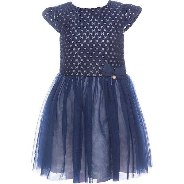 Платье для девочки WojcikОдежда<br>Характеристики товара:<br><br>• цвет: синий<br>• состав ткани: 100% полиэстер<br>• сезон: лето<br>• особенности модели: нарядная<br>• застежка: молния<br>• короткие рукава<br>• страна бренда: Польша<br>• страна изготовитель: Польша<br><br>Нарядное детское платье отличается пышным подолом. Это красивое платье для детей украшено бантом. Такое платье для девочки Войчик легко надевается. Популярный бренд Wojcik - это польская детская одежда отличного качества по доступной цене. <br><br>Платье для девочки Wojcik (Войчик) можно купить в нашем интернет-магазине.<br>Ширина мм: 236; Глубина мм: 16; Высота мм: 184; Вес г: 177; Цвет: темно-синий; Возраст от месяцев: 18; Возраст до месяцев: 24; Пол: Женский; Возраст: Детский; Размер: 92,134,128,122,116,110,104,98; SKU: 5590241;
