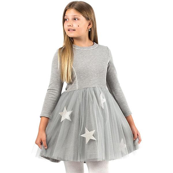 Платье для девочки WojcikОдежда<br>Характеристики товара:<br><br>• цвет: серый<br>• состав ткани: 78% хлопок, 20% полиэстер, 2% эластан<br>• сезон: демисезон<br>• особенности модели: нарядная<br>• застежка: молния<br>• длинные рукава<br>• страна бренда: Польша<br>• страна изготовитель: Польша<br><br>Серое детское платье декорировано эффектными звездами. Это платье для детей сделано из качественного материала. Такое платье для девочки Войчик легко надевается. Известный бренд Wojcik - это польская детская одежда отличного качества по доступной цене. <br><br>Платье для девочки Wojcik (Войчик) можно купить в нашем интернет-магазине.<br>Ширина мм: 236; Глубина мм: 16; Высота мм: 184; Вес г: 177; Цвет: серый; Возраст от месяцев: 108; Возраст до месяцев: 120; Пол: Женский; Возраст: Детский; Размер: 140,116,158,152,146,134,128,122; SKU: 5590380;