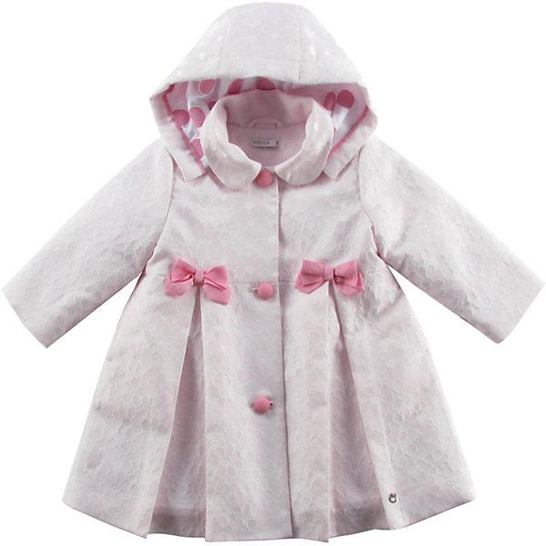 Пальто для девочки WojcikВерхняя одежда<br>Характеристики товара:<br><br>• цвет: розовый<br>• состав ткани: полиэстер 68%, вискоза 31%, эластан 1%<br>• длинные рукава<br>• капюшон<br>• температурный режим: от +5 до +20<br>• застежка: пуговицы<br>• сезон: демисезон<br>• страна бренда: Польша<br>• страна изготовитель: Польша<br><br>Польская одежда для детей от бренда Войчик - это качественные и стильные вещи. Розовое пальто для девочки Войчик отличается модным кроем и актуальным в этом сезоне цветом. <br><br>Эта модель одежды для детей сделана из качественного материала, подкладка - из дышащего натурального хлопка в составе. Пальто дополнено удобным капюшоном.<br><br>Пальто для девочки Wojcik (Войчик) можно купить в нашем интернет-магазине.<br>Ширина мм: 356; Глубина мм: 10; Высота мм: 245; Вес г: 519; Цвет: белый; Возраст от месяцев: 18; Возраст до месяцев: 24; Пол: Женский; Возраст: Детский; Размер: 92,98; SKU: 5590522;