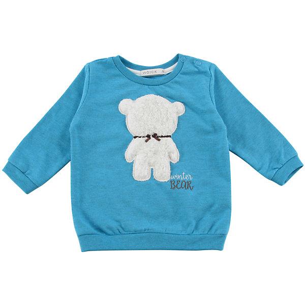 Толстовка для девочки WojcikТолстовки<br>Характеристики товара:<br><br>• цвет: синий<br>• состав ткани: хлопок 97%, полиэстер 3%<br>• длинные рукава<br>• набивная аппликация<br>• сезон: демисезон<br>• страна бренда: Польша<br>• страна изготовитель: Польша<br><br>Польская одежда для детей от бренда Войчик - это качественные и стильные вещи. Синяя толстовка для девочки Войчик отличается модным кроем и актуальным в этом сезоне цветом. <br><br>Эта модель одежды для детей сделана из качественного материала. Толстовка украшена объемным принтом.<br><br>Толстовку для девочки Wojcik (Войчик) можно купить в нашем интернет-магазине.<br>Ширина мм: 186; Глубина мм: 87; Высота мм: 198; Вес г: 197; Цвет: голубой; Возраст от месяцев: 18; Возраст до месяцев: 24; Пол: Женский; Возраст: Детский; Размер: 92,86,80,74,68,98; SKU: 5590528;