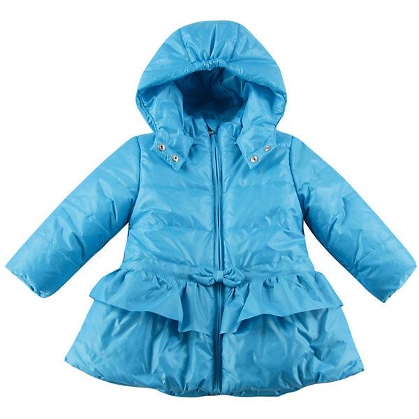 Куртка утепленная для девочки WojcikВерхняя одежда<br>Характеристики товара:<br><br>• цвет: голубой<br>• состав ткани: 100% полиэстер<br>• подкладка: 100% полиэстер<br>• утеплитель: 100% полиэстер<br>• сезон: демисезон<br>• температурный режим: от -5 до +10<br>• особенности модели: с капюшоном<br>• застежка: молния<br>• длинные рукава<br>• страна бренда: Польша<br>• страна изготовитель: Польша<br><br>Утепленная куртка для девочки от Войчик отличается модным кроем. Детская куртка удобно застегивается. Куртка для детей имеет мягкую приятную на ощупь подкладку. Польская детская одежда для детей от бренда Wojcik - это качественные и стильные вещи. <br><br>Куртку утепленную для девочки Wojcik (Войчик) можно купить в нашем интернет-магазине.<br><br>Ширина мм: 356<br>Глубина мм: 10<br>Высота мм: 245<br>Вес г: 519<br>Цвет: голубой<br>Возраст от месяцев: 6<br>Возраст до месяцев: 9<br>Пол: Женский<br>Возраст: Детский<br>Размер: 74,98,92,86,80<br>SKU: 5590536