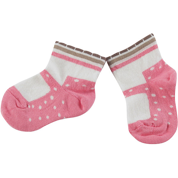 Носки для девочки WojcikНосочки и колготки<br>Характеристики товара:<br><br>• цвет: белый<br>• состав ткани: 87% хлопок, 11% полиамид, 2% эластан <br>• сезон: круглый год<br>• страна бренда: Польша<br>• страна изготовитель: Польша<br><br>Трикотажные носки для девочки Wojcik не давят на ногу благодаря мягкой резинке. Детские носки декорированы оригинальным узором. Такие носки для детей - мягкие и комфортные. Одежда для детей из Польши от бренда Wojcik отличается хорошим качеством и стилем. <br><br>Носки для девочки Wojcik (Войчик) можно купить в нашем интернет-магазине.<br>Ширина мм: 87; Глубина мм: 10; Высота мм: 105; Вес г: 115; Цвет: розовый/белый; Возраст от месяцев: 0; Возраст до месяцев: 5; Пол: Женский; Возраст: Детский; Размер: 16/17,15/16,18/19; SKU: 5590753;