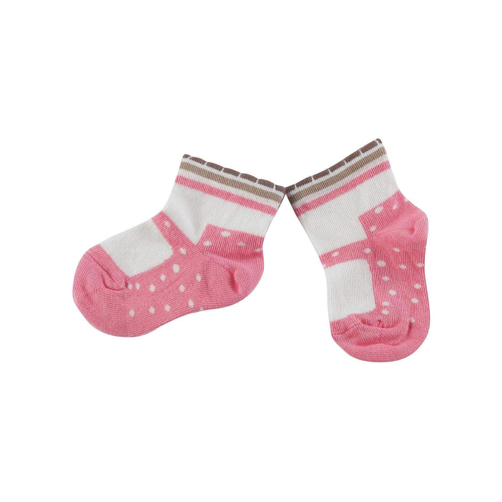 Носки для девочки WojcikНоски<br>Характеристики товара:<br><br>• цвет: белый<br>• состав ткани: 87% хлопок, 11% полиамид, 2% эластан <br>• сезон: круглый год<br>• страна бренда: Польша<br>• страна изготовитель: Польша<br><br>Трикотажные носки для девочки Wojcik не давят на ногу благодаря мягкой резинке. Детские носки декорированы оригинальным узором. Такие носки для детей - мягкие и комфортные. Одежда для детей из Польши от бренда Wojcik отличается хорошим качеством и стилем. <br><br>Носки для девочки Wojcik (Войчик) можно купить в нашем интернет-магазине.<br><br>Ширина мм: 87<br>Глубина мм: 10<br>Высота мм: 105<br>Вес г: 115<br>Цвет: розовый/белый<br>Возраст от месяцев: 0<br>Возраст до месяцев: 5<br>Пол: Женский<br>Возраст: Детский<br>Размер: 16/17,15/16,18/19<br>SKU: 5590753