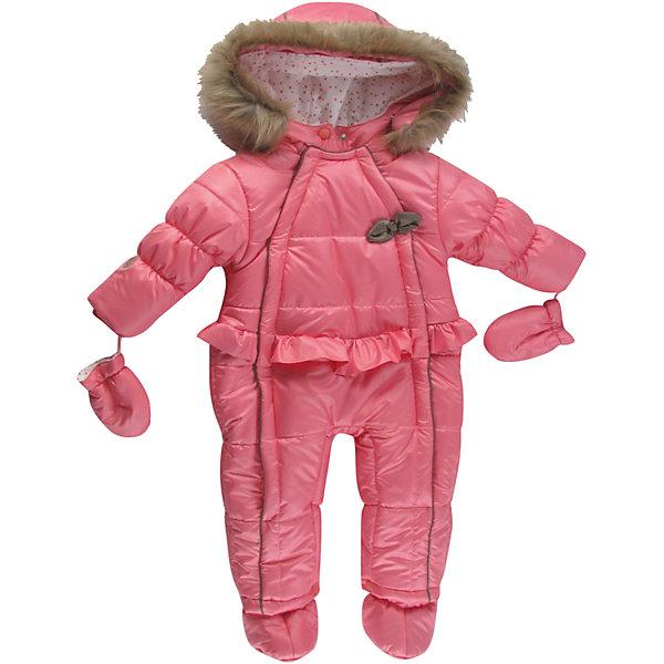 Комбинезон для девочки WojcikВерхняя одежда<br>Характеристики товара:<br><br>• цвет: розовый<br>• комплектация: рукавицы<br>• состав ткани: 100% полиэстер <br>• сезон: демисезон<br>• особенности модели: с капюшоном<br>• застежка: молния<br>• капюшон: с мехом<br>• длинные рукава<br>• страна бренда: Польша<br>• страна изготовитель: Польша<br><br>Розовый комбинезон с капюшоном для девочки от Войчик легко надевается благодаря удобным застежкам. Оригинальный комбинезон для детей дополнен мягкой подкладкой. Детский комбинезон декорирован бантом. Бренд Wojcik - это польская детская одежда отличного качества по доступной цене. <br><br>Комбинезон для девочки Wojcik (Войчик) можно купить в нашем интернет-магазине.<br><br>Ширина мм: 356<br>Глубина мм: 10<br>Высота мм: 245<br>Вес г: 519<br>Цвет: розовый<br>Возраст от месяцев: 3<br>Возраст до месяцев: 6<br>Пол: Женский<br>Возраст: Детский<br>Размер: 68,62,80,74<br>SKU: 5590773