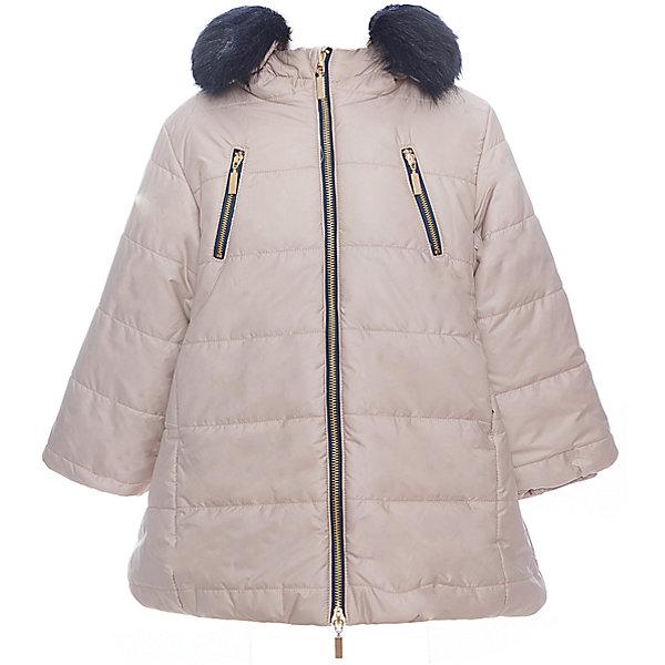 Куртка утепленная для девочки WojcikВерхняя одежда<br>Характеристики товара:<br><br>• цвет: бежевый<br>• состав ткани: 100% полиэстер<br>• подкладка: 100% полиэстер<br>• утеплитель: 100% полиэстер<br>• сезон: демисезон<br>• температурный режим: от -5 до +10<br>• особенности модели: с капюшоном<br>• застежка: молния<br>• капюшон: с мехом<br>• длинные рукава<br>• страна бренда: Польша<br>• страна изготовитель: Польша<br><br>Такая утепленная куртка для девочки от Войчик дополнена капюшоном с опушкой. Детская куртка удобно застегивается. Куртка для детей имеет мягкую приятную на ощупь подкладку. Польская детская одежда для детей от бренда Wojcik - это качественные и стильные вещи. <br><br>Куртку утепленную для девочки Wojcik (Войчик) можно купить в нашем интернет-магазине.<br><br>Ширина мм: 356<br>Глубина мм: 10<br>Высота мм: 245<br>Вес г: 519<br>Цвет: бежевый<br>Возраст от месяцев: 36<br>Возраст до месяцев: 48<br>Пол: Женский<br>Возраст: Детский<br>Размер: 104,146,140,134,128,122,116,110<br>SKU: 5591110