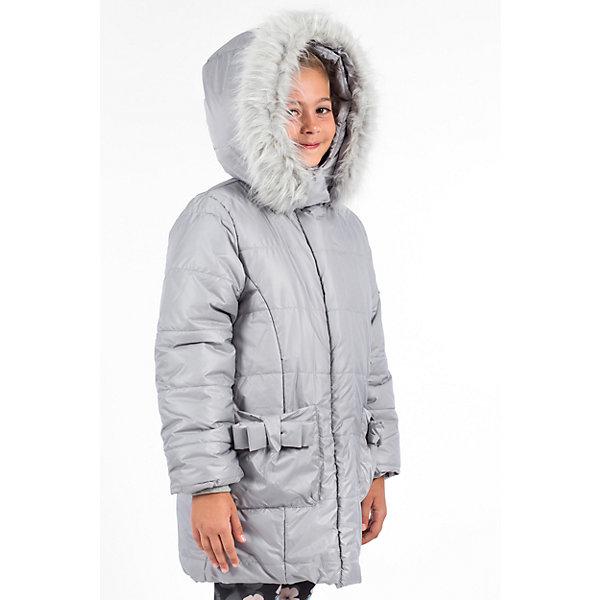 Куртка утепленная для девочки WojcikВерхняя одежда<br>Характеристики товара:<br><br>• цвет: серый<br>• состав ткани: 100% полиэстер<br>• подкладка: 100% полиэстер<br>• утеплитель: 100% полиэстер<br>• сезон: демисезон<br>• температурный режим: от -5 до +10<br>• особенности модели: с капюшоном<br>• застежка: молния<br>• капюшон: с мехом<br>• длинные рукава<br>• страна бренда: Польша<br>• страна изготовитель: Польша<br><br>Модная утепленная куртка для девочки от Войчик дополнена капюшоном с опушкой. Детская куртка удобно застегивается. Куртка для детей имеет мягкую приятную на ощупь подкладку. Польская детская одежда для детей от бренда Wojcik - это качественные и стильные вещи. <br><br>Куртку утепленную для девочки Wojcik (Войчик) можно купить в нашем интернет-магазине.<br>Ширина мм: 356; Глубина мм: 10; Высота мм: 245; Вес г: 519; Цвет: серый; Возраст от месяцев: 36; Возраст до месяцев: 48; Пол: Женский; Возраст: Детский; Размер: 104,146,140,128,122,116,110; SKU: 5591239;