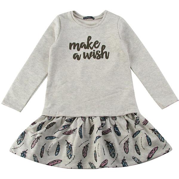 Платье для девочки WojcikПлатья и сарафаны<br>Характеристики товара:<br><br>• цвет: бежевый<br>• состав ткани: 92% хлопок, 8% эластан<br>• сезон: демисезон<br>• длинные рукава<br>• страна бренда: Польша<br>• страна изготовитель: Польша<br><br>Бренд Wojcik - это польская детская одежда отличного качества по доступной цене. Детское платье декорировано принтом. Это платье для детей сделано из качественного материала. Такое платье для девочки Войчик легко надевается. <br><br>Платье для девочки Wojcik (Войчик) можно купить в нашем интернет-магазине.<br>Ширина мм: 199; Глубина мм: 10; Высота мм: 161; Вес г: 151; Цвет: бежевый; Возраст от месяцев: 18; Возраст до месяцев: 24; Пол: Женский; Возраст: Детский; Размер: 92,134,128,122,116,110,104,98; SKU: 5591368;