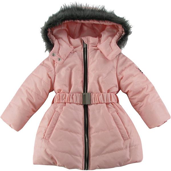 Куртка утепленная для девочки WojcikВерхняя одежда<br>Характеристики товара:<br><br>• цвет: розовый<br>• состав ткани: 100% полиэстер<br>• подкладка: 100% полиэстер<br>• утеплитель: 100% полиэстер<br>• сезон: демисезон<br>• температурный режим: от -5 до +15<br>• особенности модели: с капюшоном<br>• застежка: молния<br>• длинные рукава<br>• страна бренда: Польша<br>• страна изготовитель: Польша<br><br>Эта розовая утепленная куртка для девочки от Войчик дополнена капюшоном и карманами. Детская куртка удобно застегивается. Куртка для детей имеет мягкую приятную на ощупь подкладку. Польская детская одежда для детей от бренда Wojcik - это качественные и стильные вещи. <br><br>Куртку утепленную для девочки Wojcik (Войчик) можно купить в нашем интернет-магазине.<br>Ширина мм: 356; Глубина мм: 10; Высота мм: 245; Вес г: 519; Цвет: розовый; Возраст от месяцев: 18; Возраст до месяцев: 24; Пол: Женский; Возраст: Детский; Размер: 92,134,128,122,116,110,104,98; SKU: 5591435;
