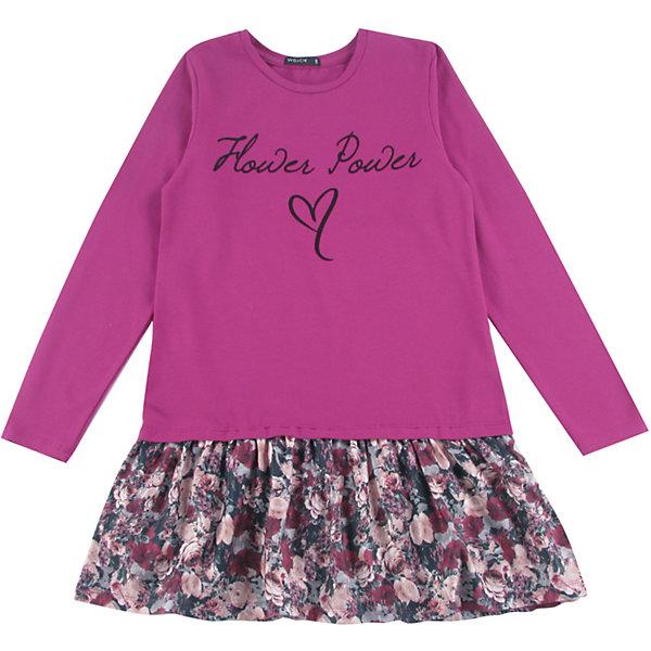 Платье для девочки WojcikПлатья и сарафаны<br>Характеристики товара:<br><br>• цвет: лиловый<br>• состав ткани: 92% хлопок, 8% эластан<br>• сезон: демисезон<br>• застежка: молния<br>• длинные рукава<br>• страна бренда: Польша<br>• страна изготовитель: Польша<br><br>Яркое детское платье декорировано принтом. Бренд Wojcik - это польская детская одежда отличного качества по доступной цене. Это платье для детей сделано из качественного материала. Такое платье для девочки Войчик легко надевается. <br><br>Платье для девочки Wojcik (Войчик) можно купить в нашем интернет-магазине.<br><br>Ширина мм: 199<br>Глубина мм: 10<br>Высота мм: 161<br>Вес г: 151<br>Цвет: лиловый<br>Возраст от месяцев: 144<br>Возраст до месяцев: 156<br>Пол: Женский<br>Возраст: Детский<br>Размер: 158,128,152,146,140,134<br>SKU: 5591624