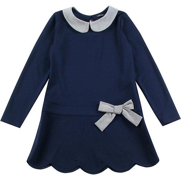 Платье для девочки WojcikПлатья и сарафаны<br>Характеристики товара:<br><br>• цвет: синий<br>• состав ткани: 97% хлопок, 3% эластан <br>• сезон: демисезон<br>• застежка: пуговица<br>• длинные рукава<br>• страна бренда: Польша<br>• страна изготовитель: Польша<br><br>Такое детское платье декорировано бантом. Бренд Wojcik - это польская детская одежда отличного качества по доступной цене. Это платье для детей сделано из качественного материала. Такое платье для девочки Войчик легко надевается. <br><br>Платье для девочки Wojcik (Войчик) можно купить в нашем интернет-магазине.<br><br>Ширина мм: 236<br>Глубина мм: 16<br>Высота мм: 184<br>Вес г: 177<br>Цвет: темно-синий<br>Возраст от месяцев: 48<br>Возраст до месяцев: 60<br>Пол: Женский<br>Возраст: Детский<br>Размер: 110,158,152,146,140,134,128,122,116<br>SKU: 5591728