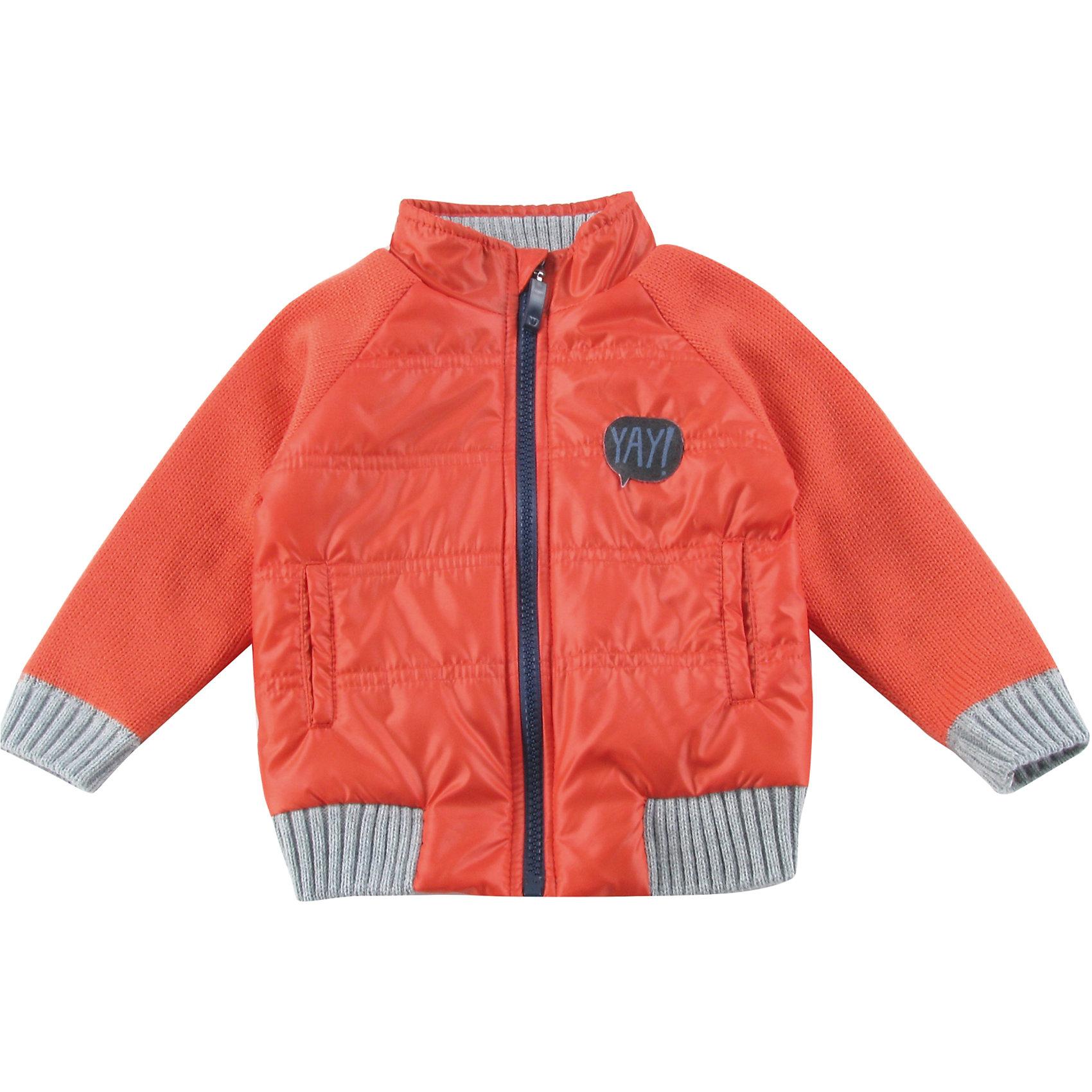 Куртка для мальчика WojcikВерхняя одежда<br>Куртка для мальчика Wojcik<br>Состав:<br>Полиэстер 50% Хлопок 25% Акрил 25%<br><br>Ширина мм: 174<br>Глубина мм: 10<br>Высота мм: 169<br>Вес г: 157<br>Цвет: красный<br>Возраст от месяцев: 24<br>Возраст до месяцев: 36<br>Пол: Мужской<br>Возраст: Детский<br>Размер: 98,86,68,74,80,92<br>SKU: 5591765