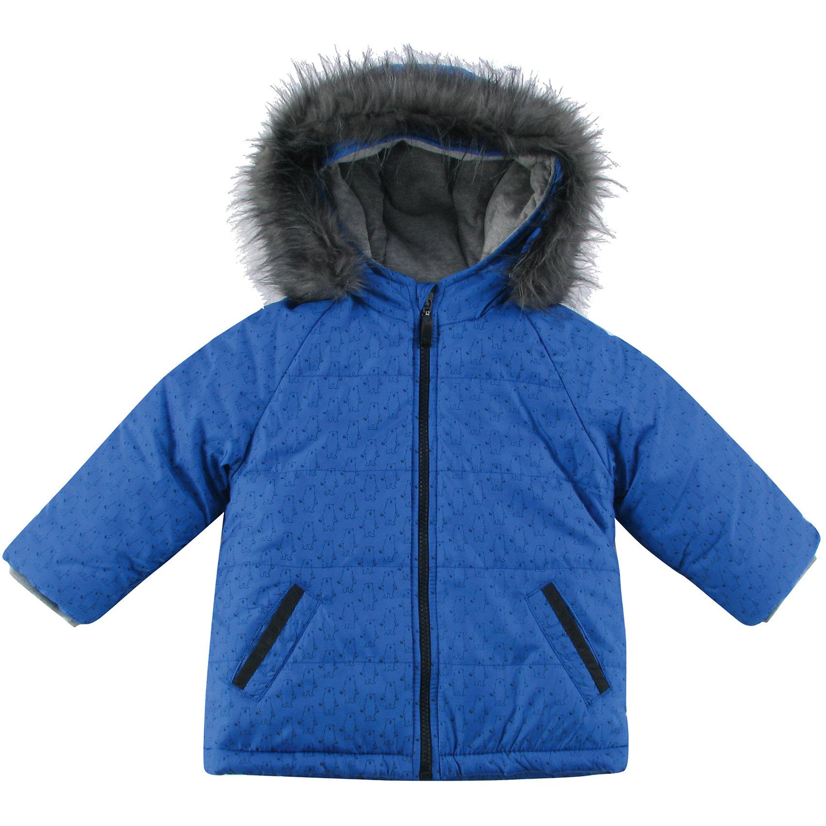 Куртка утепленная для мальчика WojcikВерхняя одежда<br>Куртка утепленная для мальчика Wojcik<br>Состав:<br>Полиэстер 100%<br><br>Ширина мм: 356<br>Глубина мм: 10<br>Высота мм: 245<br>Вес г: 519<br>Цвет: синий<br>Возраст от месяцев: 24<br>Возраст до месяцев: 36<br>Пол: Мужской<br>Возраст: Детский<br>Размер: 74,80,98,86,92<br>SKU: 5591849