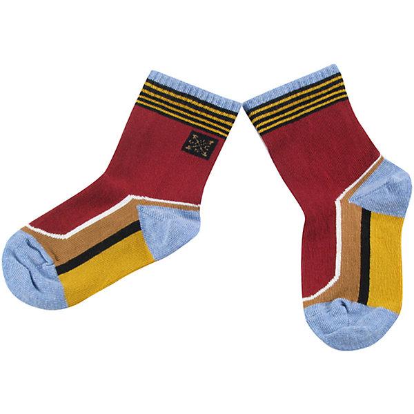 Носки для мальчика WojcikНосочки и колготки<br>Характеристики товара:<br><br>• цвет: красный<br>• состав ткани: 87% хлопок, 11% полиамид, 2% эластан <br>• сезон: круглый год<br>• страна бренда: Польша<br>• страна изготовитель: Польша<br><br>Удобные носки для мальчика Wojcik не давят на ногу благодаря мягкой резинке. Детские носки сделаны из дышащего материала. Такие носки для детей - мягкие и комфортные. Одежда для детей из Польши от бренда Wojcik отличается хорошим качеством и стилем. <br><br>Носки для мальчика Wojcik (Войчик) можно купить в нашем интернет-магазине.<br><br>Ширина мм: 87<br>Глубина мм: 10<br>Высота мм: 105<br>Вес г: 115<br>Цвет: разноцветный<br>Возраст от месяцев: 0<br>Возраст до месяцев: 5<br>Пол: Мужской<br>Возраст: Детский<br>Размер: 16/17,15/16,18/19<br>SKU: 5591965