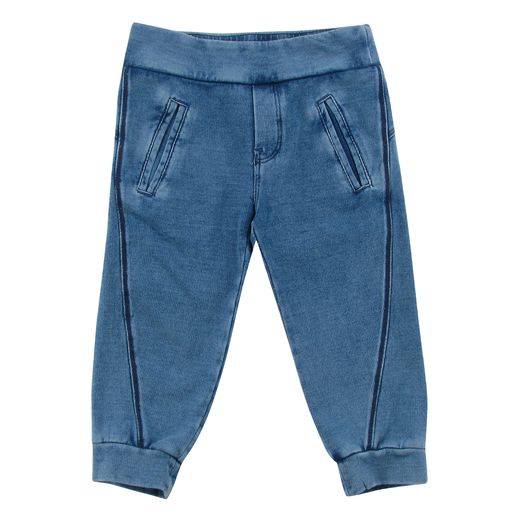 Спортивные штаны для мальчика WojcikБрюки<br>Спортивные штаны для мальчика Wojcik<br>Состав:<br>Хлопок 97% Эластан 3%<br><br>Ширина мм: 215<br>Глубина мм: 88<br>Высота мм: 191<br>Вес г: 336<br>Цвет: синий<br>Возраст от месяцев: 3<br>Возраст до месяцев: 6<br>Пол: Мужской<br>Возраст: Детский<br>Размер: 68,98,74,80,86,92<br>SKU: 5591988