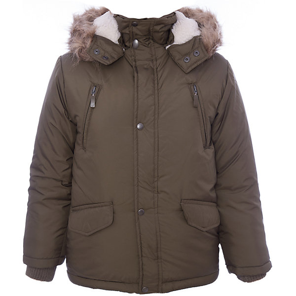 Куртка утепленная для мальчика WojcikВерхняя одежда<br>Характеристики товара:<br><br>• цвет: хаки<br>• состав ткани: 100% полиэстер<br>• подкладка: 100% полиэстер<br>• утеплитель: 100% полиэстер<br>• сезон: демисезон<br>• температурный режим: от -5 до +15<br>• особенности модели: с капюшоном<br>• застежка: молния<br>• длинные рукава<br>• страна бренда: Польша<br>• страна изготовитель: Польша<br><br>Стильная куртка для мальчика от Войчик дополнена капюшоном с опушкой. Детская куртка удобно застегивается. Утепленная куртка для детей выполнена в модной красивой расцветке. Польская детская одежда для детей от бренда Wojcik - это качественные и стильные вещи. <br><br>Куртку утепленную для мальчика Wojcik (Войчик) можно купить в нашем интернет-магазине.<br>Ширина мм: 356; Глубина мм: 10; Высота мм: 245; Вес г: 519; Цвет: хаки; Возраст от месяцев: 60; Возраст до месяцев: 72; Пол: Мужской; Возраст: Детский; Размер: 116,104,110,122,128,134,140,146; SKU: 5592058;
