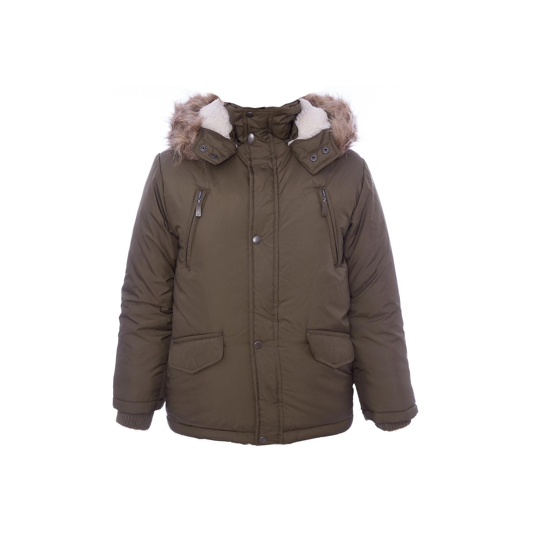 Куртка утепленная для мальчика WojcikВерхняя одежда<br>Куртка утепленная для мальчика Wojcik<br>Состав:<br>Полиэстер 100%<br><br>Ширина мм: 356<br>Глубина мм: 10<br>Высота мм: 245<br>Вес г: 519<br>Цвет: хаки<br>Возраст от месяцев: 120<br>Возраст до месяцев: 132<br>Пол: Мужской<br>Возраст: Детский<br>Размер: 146,104,110,116,122,128,134,140<br>SKU: 5592058